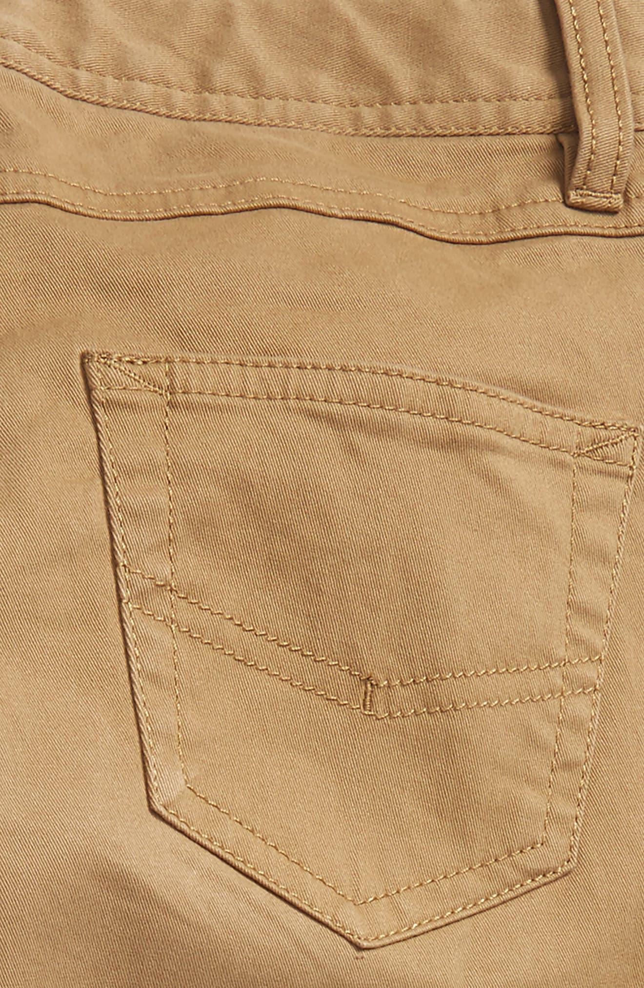 Twill Pants,                             Alternate thumbnail 3, color,                             Tan Kelp
