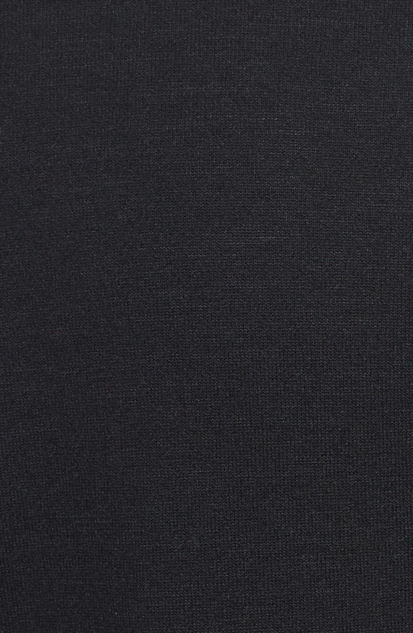 Running Element Long Sleeve T-Shirt,                             Alternate thumbnail 5, color,                             Black