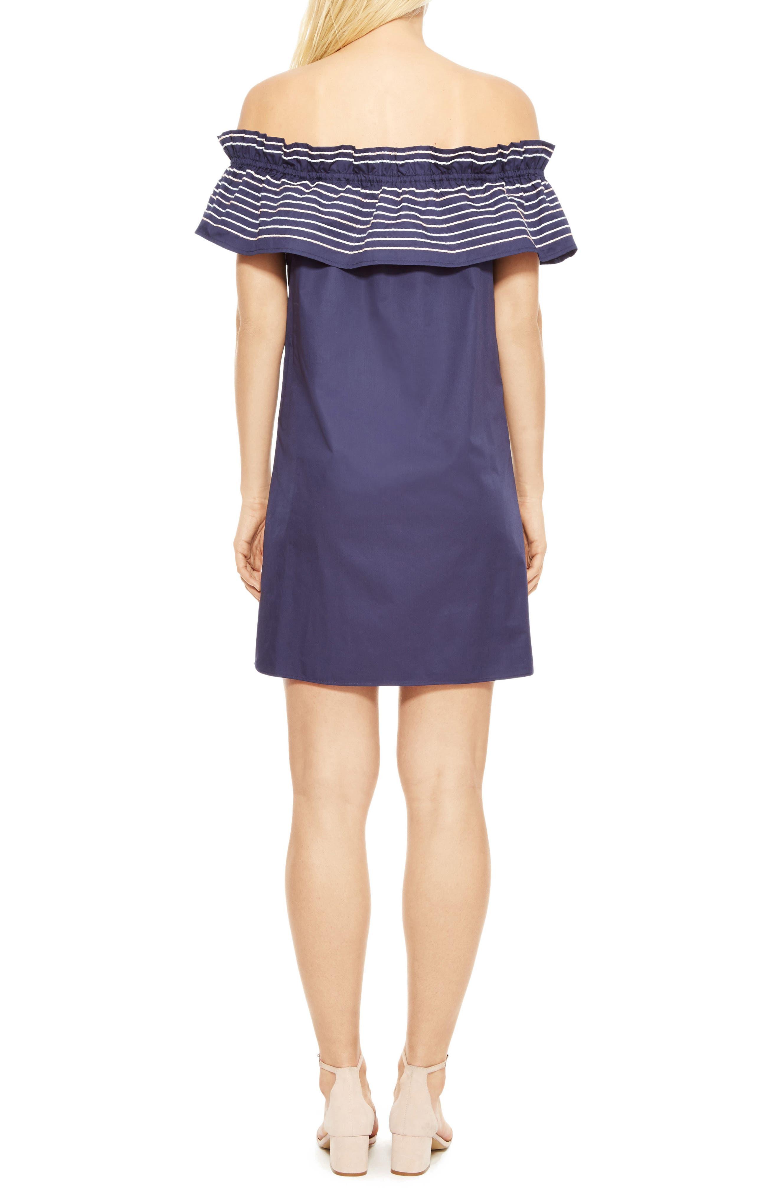 Alternate Image 2  - Parker Jody Off the Shoulder Shift Dress