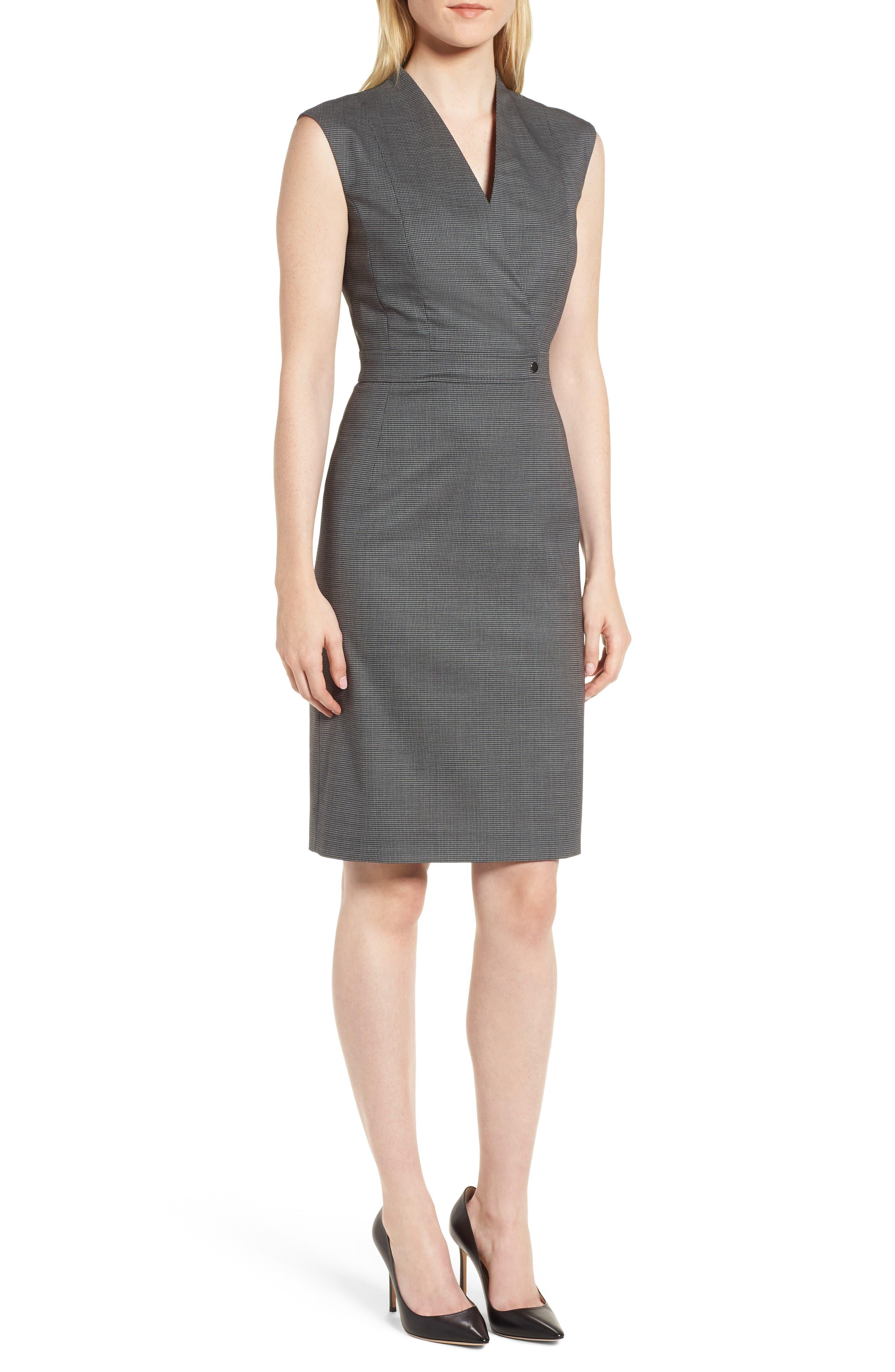 BOSS Difara Minidessin Dress (Regular & Petite)