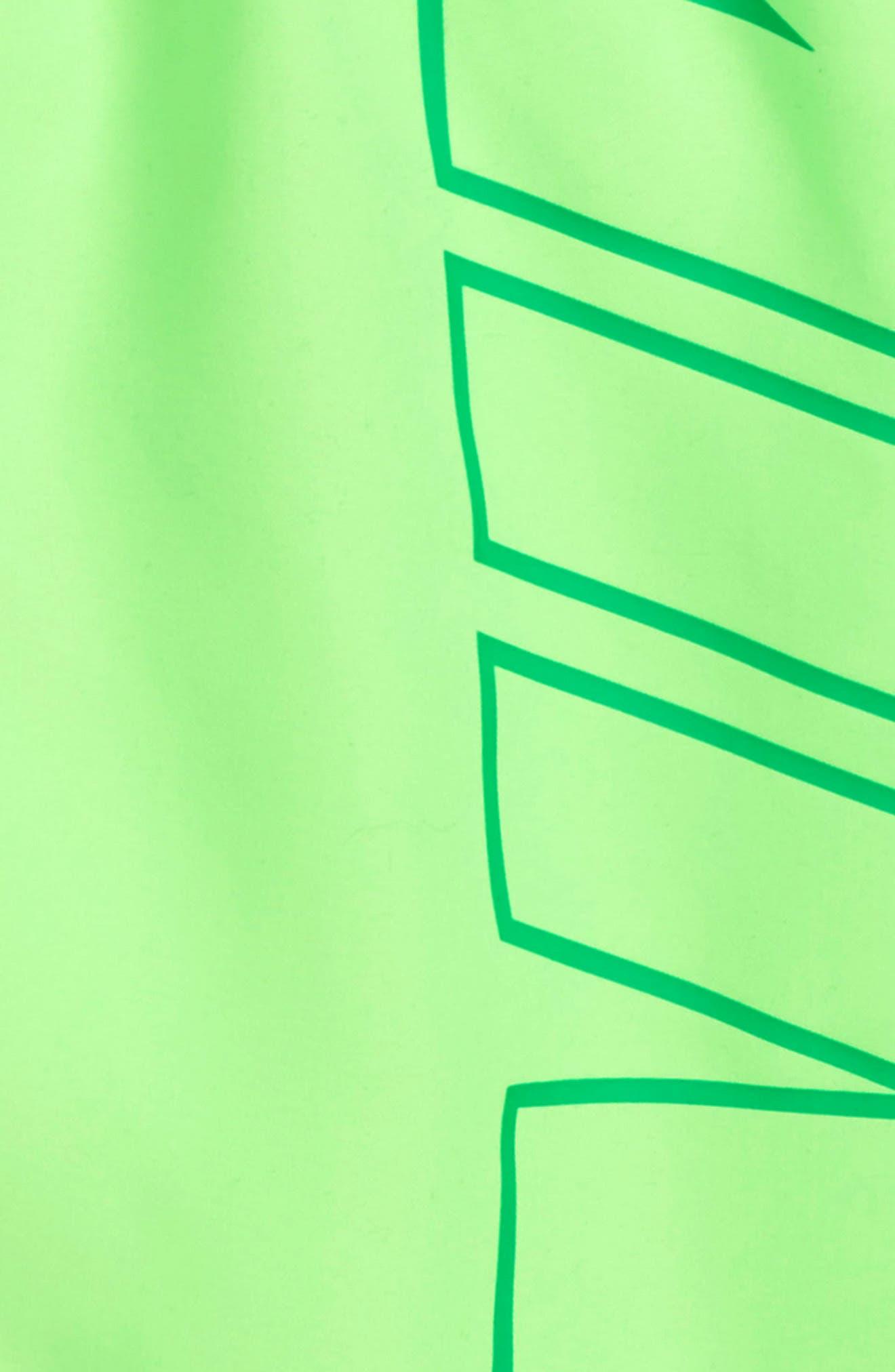 Breaker Board Shorts,                             Alternate thumbnail 2, color,                             Green Strike