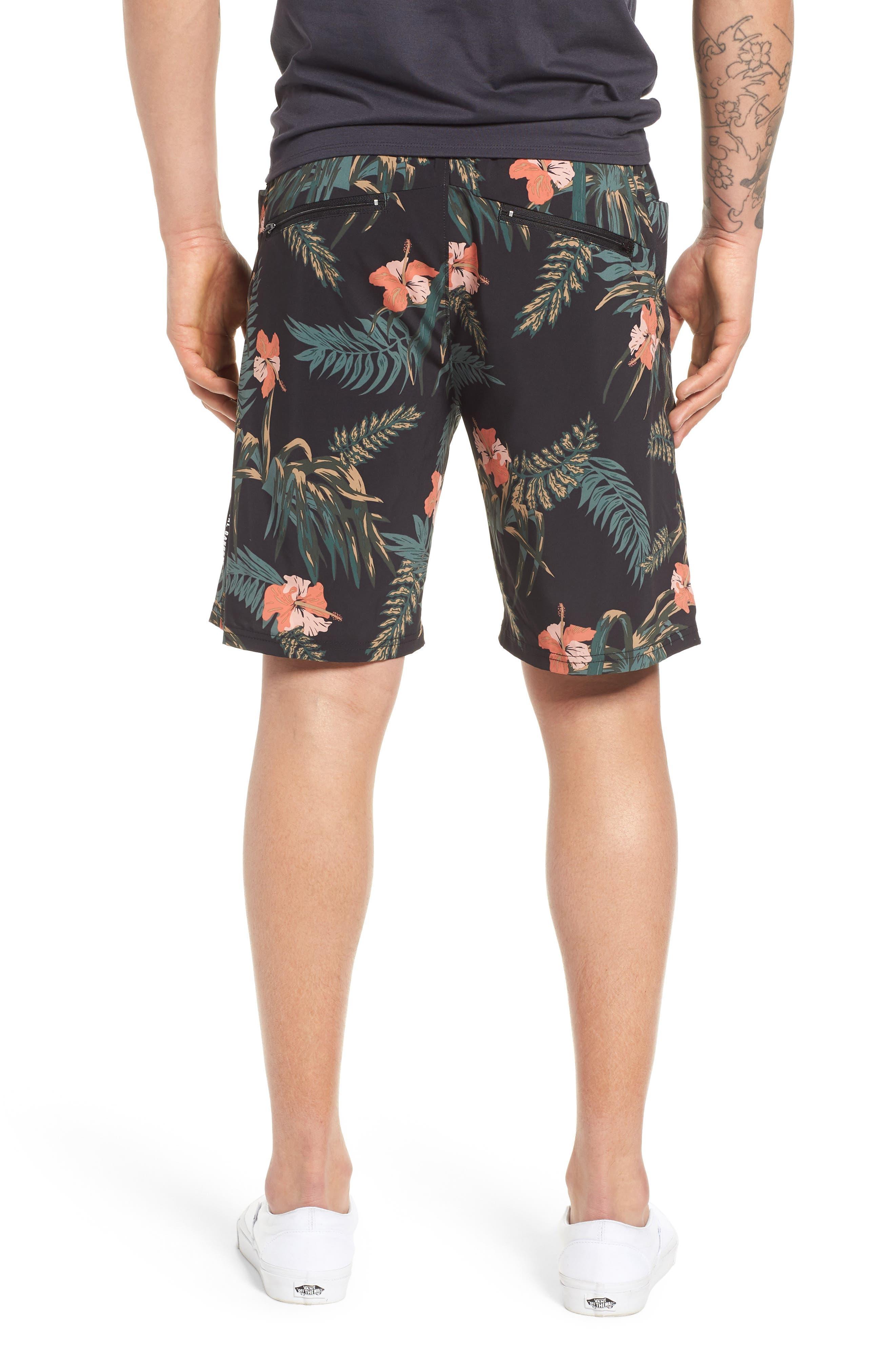 Ignite Shorts,                             Alternate thumbnail 2, color,                             Floral/ Multi
