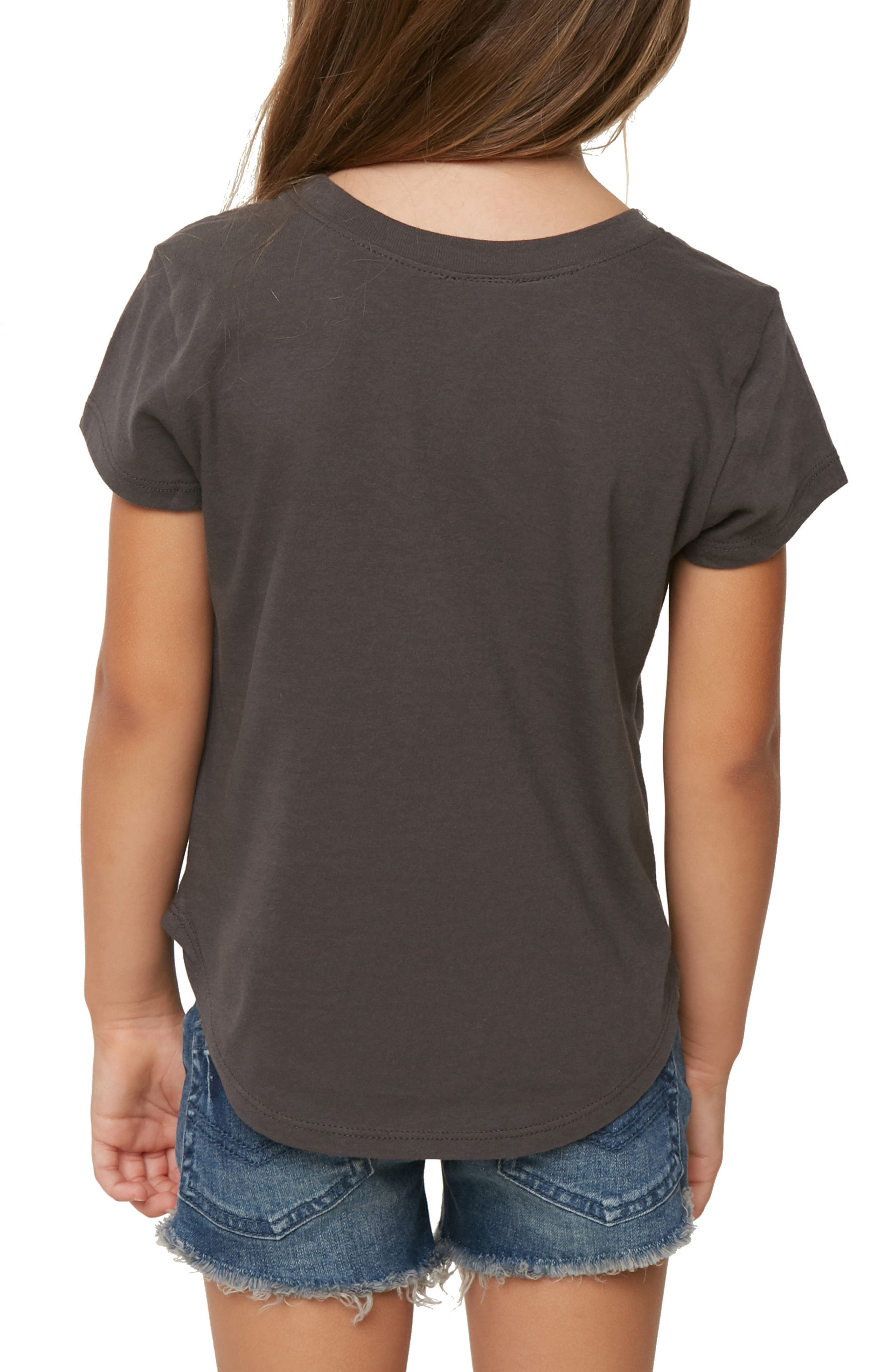 Sol Search Tee,                             Alternate thumbnail 4, color,                             Washed Black