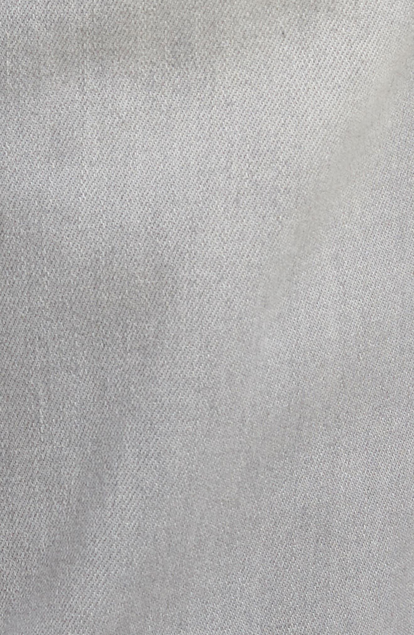 Jeans Co. Kingston Slim Straight Leg Jeans,                             Alternate thumbnail 5, color,                             Coal Mine Dark