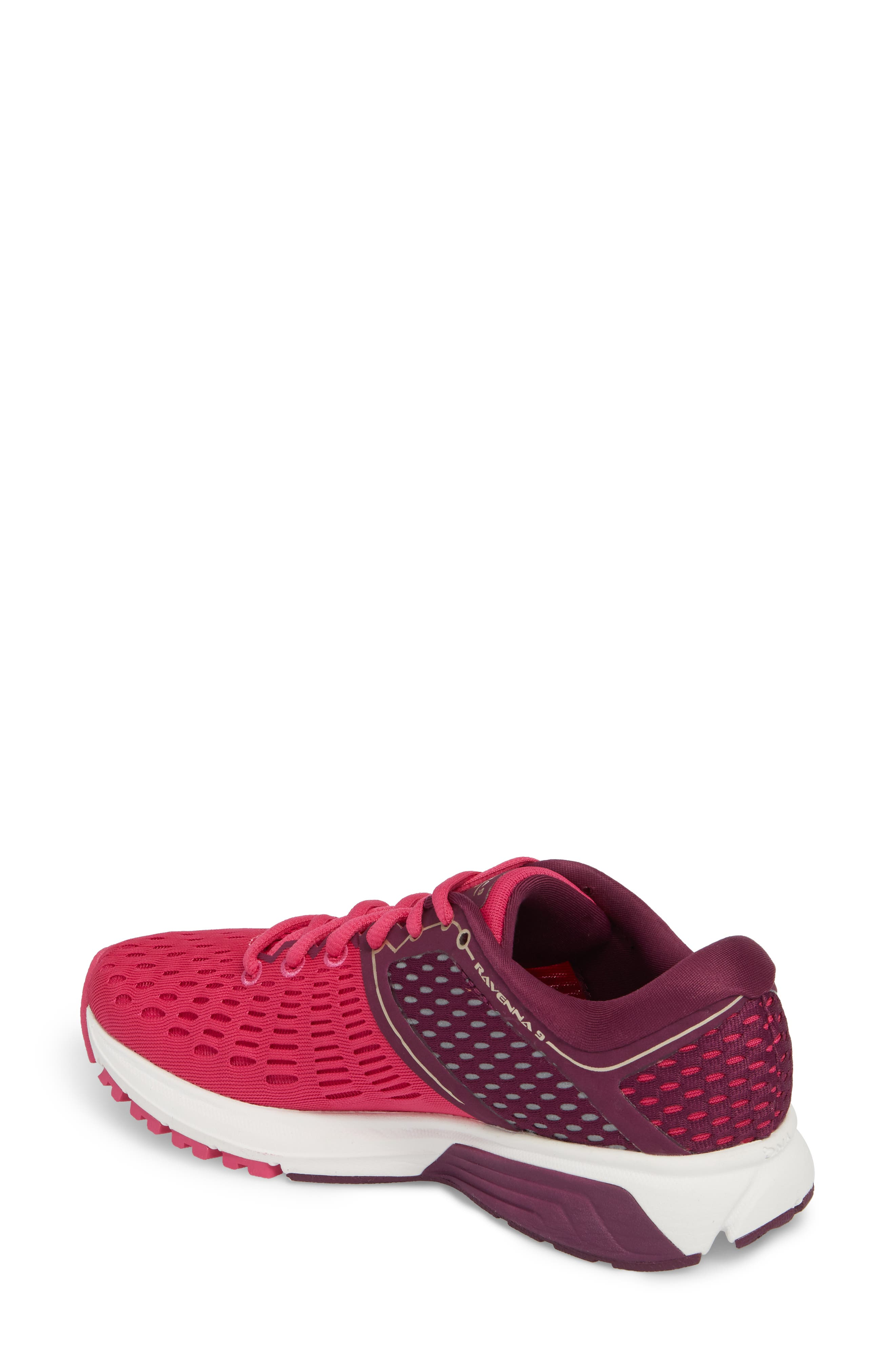 Ravenna 9 Running Shoe,                             Alternate thumbnail 2, color,                             Pink/ Plum/ Champagne
