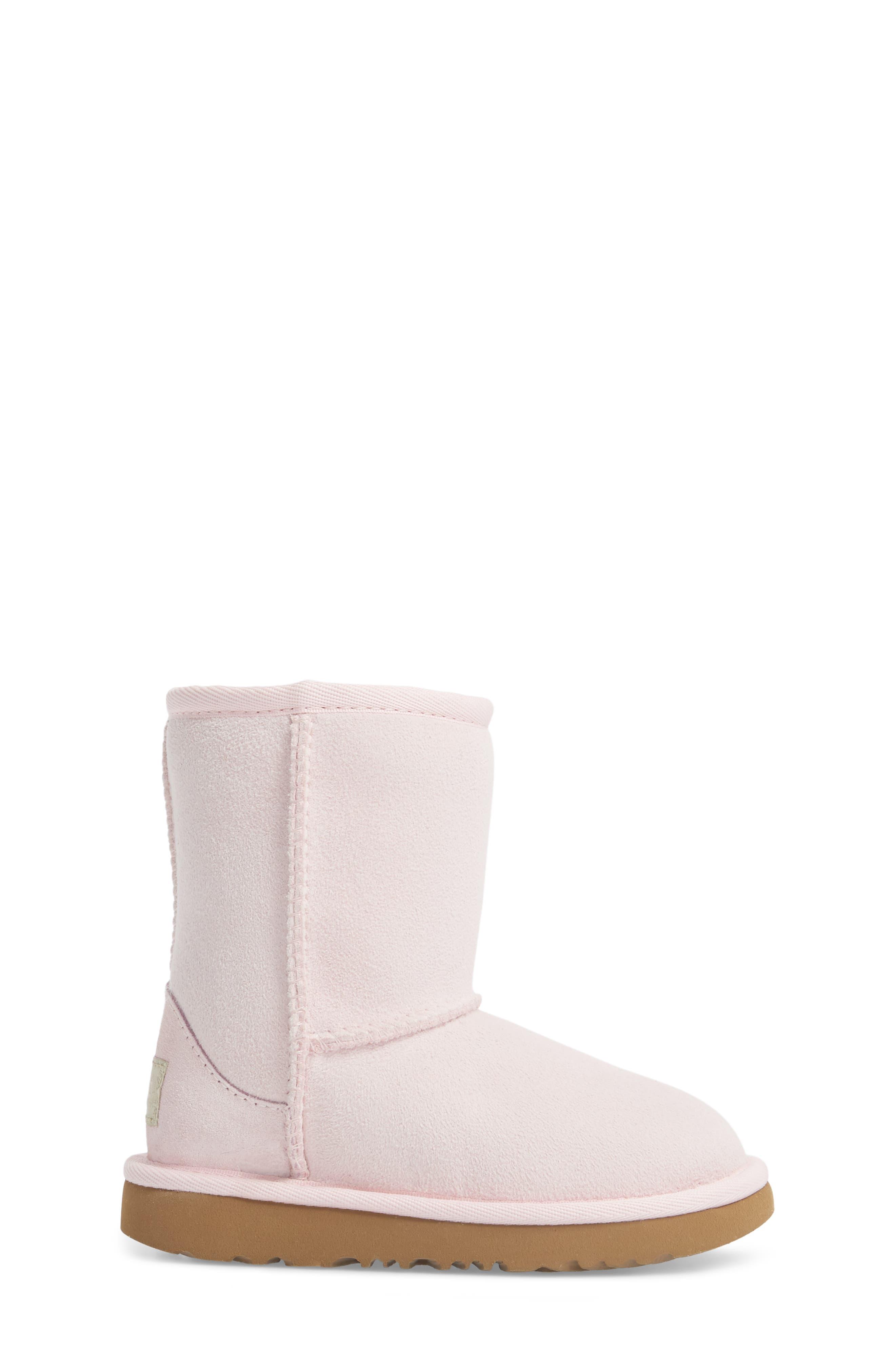 Alternate Image 3  - UGG® Classic II Water Resistant Genuine Shearling Boot (Walker, Toddler, Little Kid & Big Kid)
