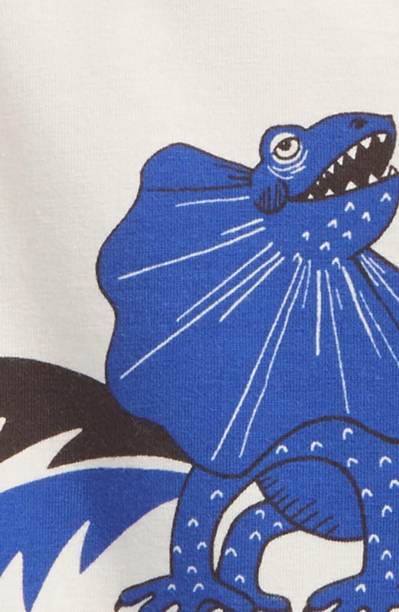 Draco Stretch Organic Cotton T-Shirt,                             Alternate thumbnail 2, color,                             Blue