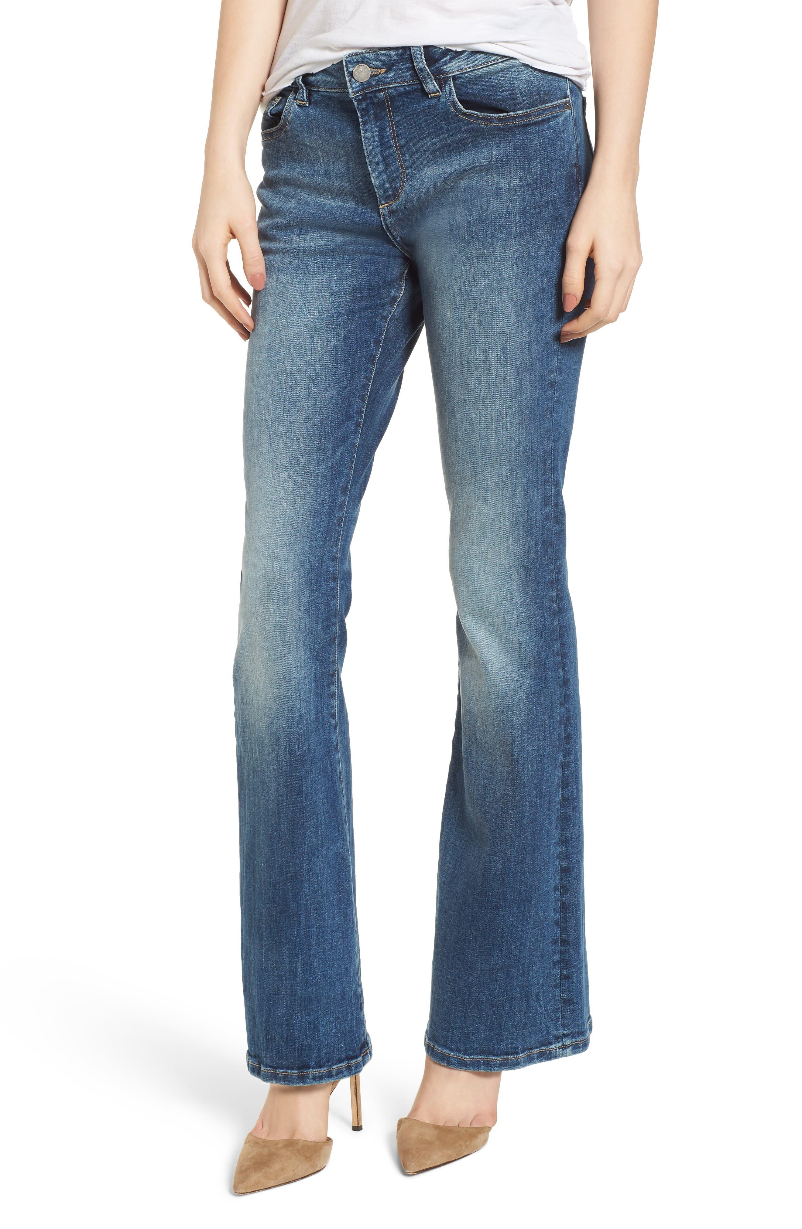 Bridget Instasculpt Bootcut Jeans,                             Main thumbnail 1, color,                             Wells