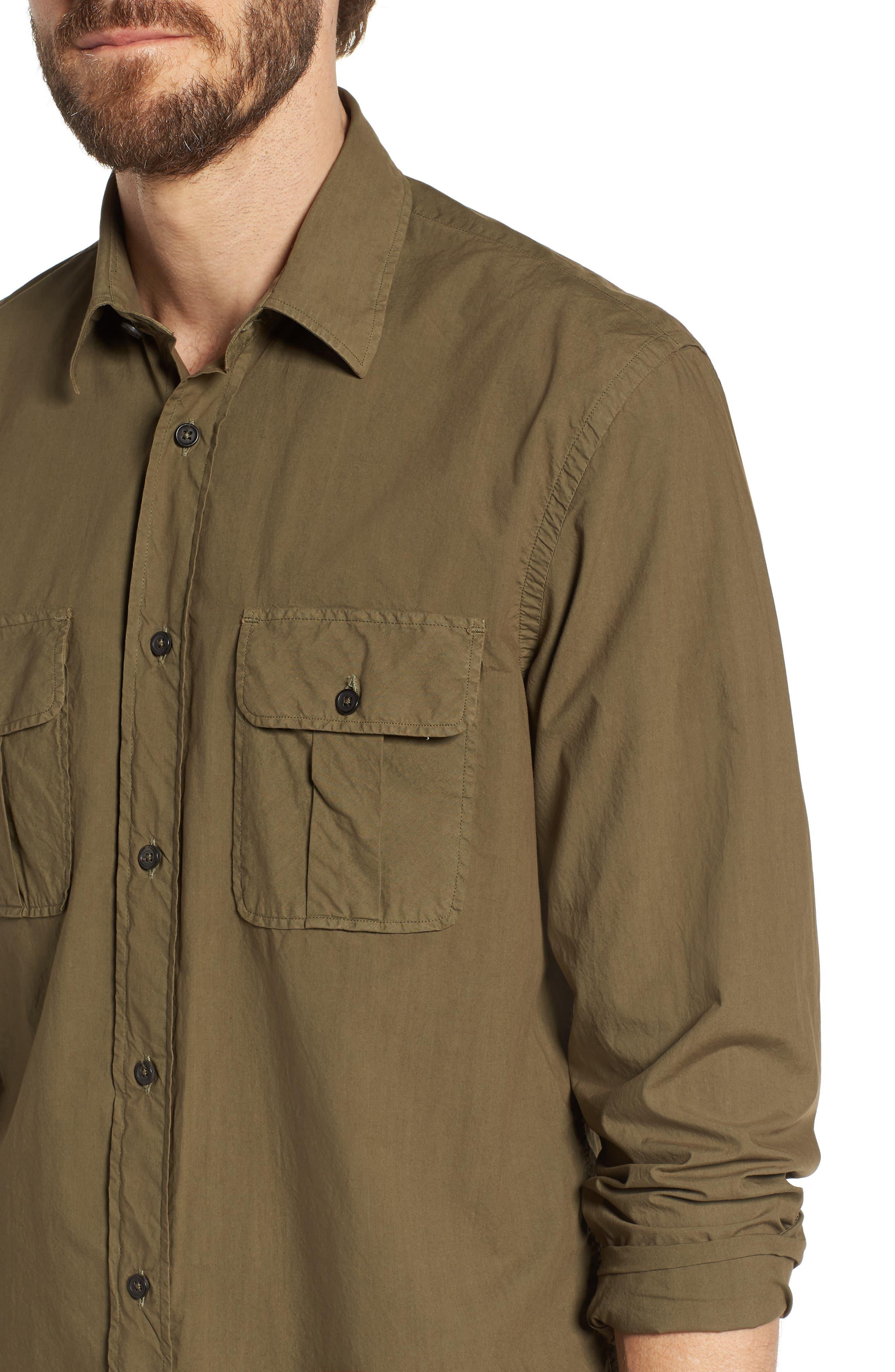 Alternate Image 2  - Billy Reid Brantley Slim Fit Sport Shirt