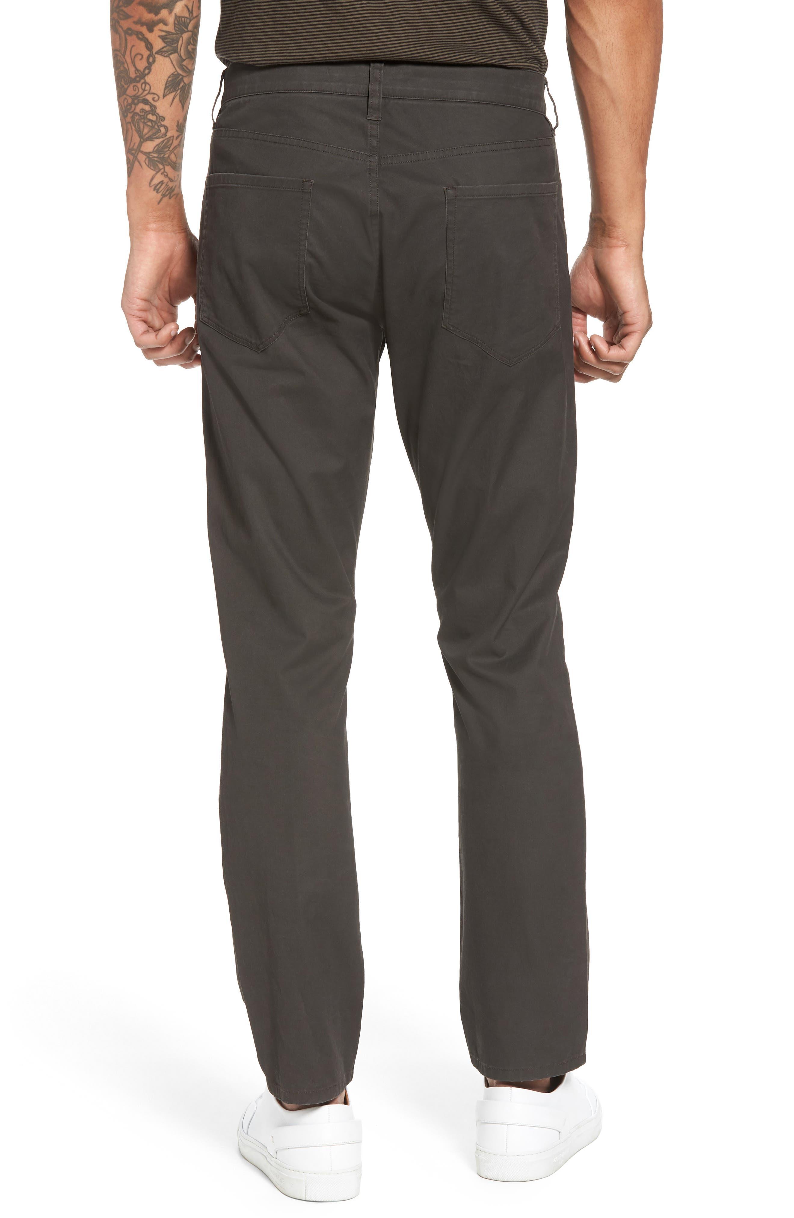 Slim Fit Five-Pocket Pants,                             Alternate thumbnail 2, color,                             Charcoal
