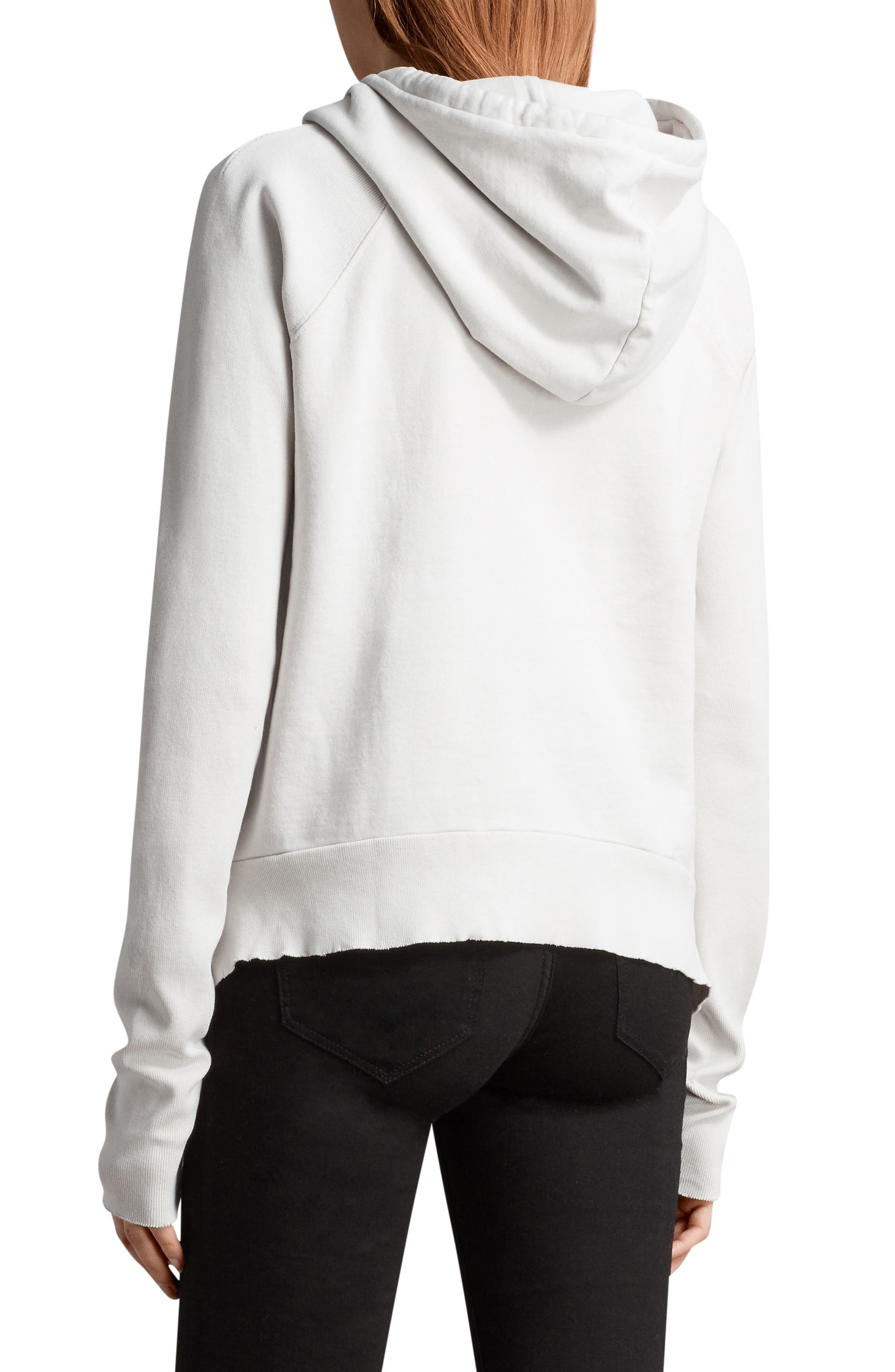 Ivy Hoodie,                             Alternate thumbnail 2, color,                             Ivory White