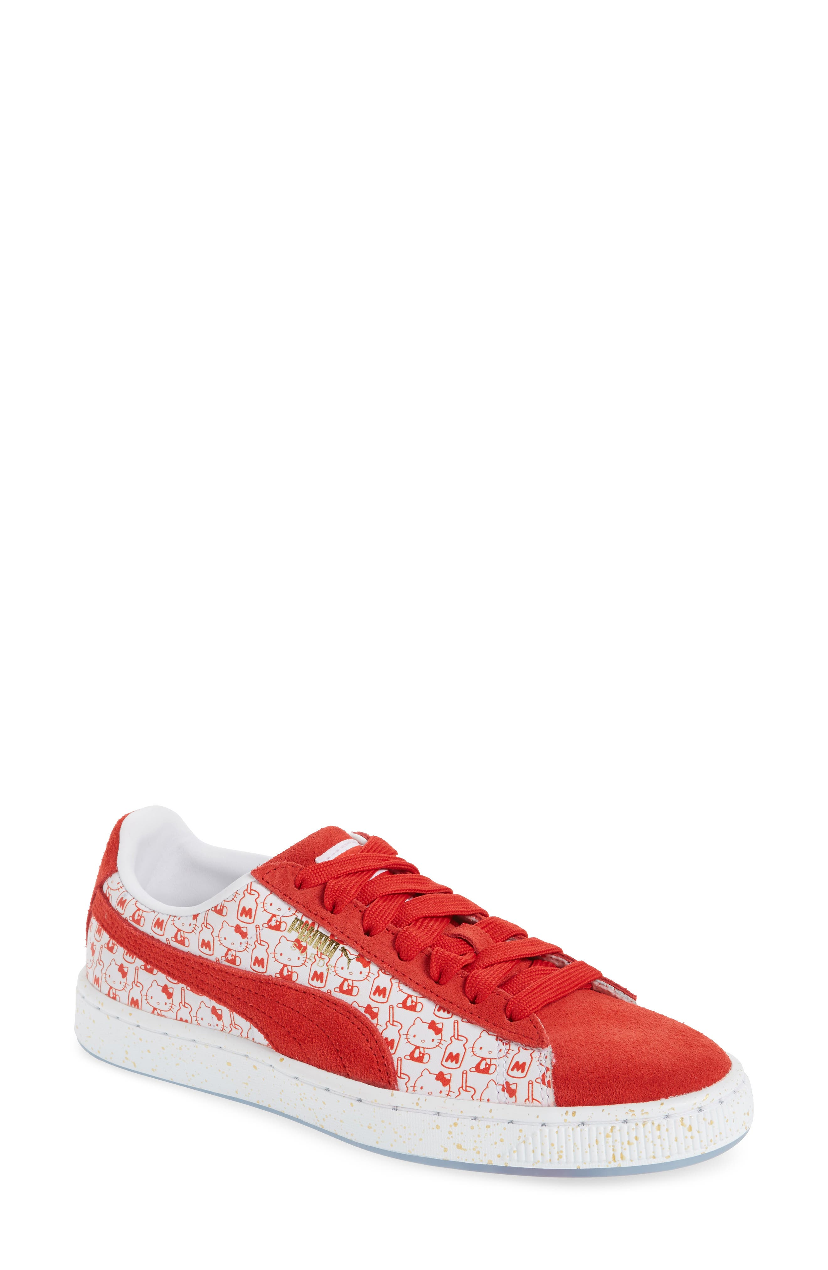 PUMA x Hello Kitty Suede Classic Sneaker (Baby, Walker, Toddler, Little Kid & Big Kid)