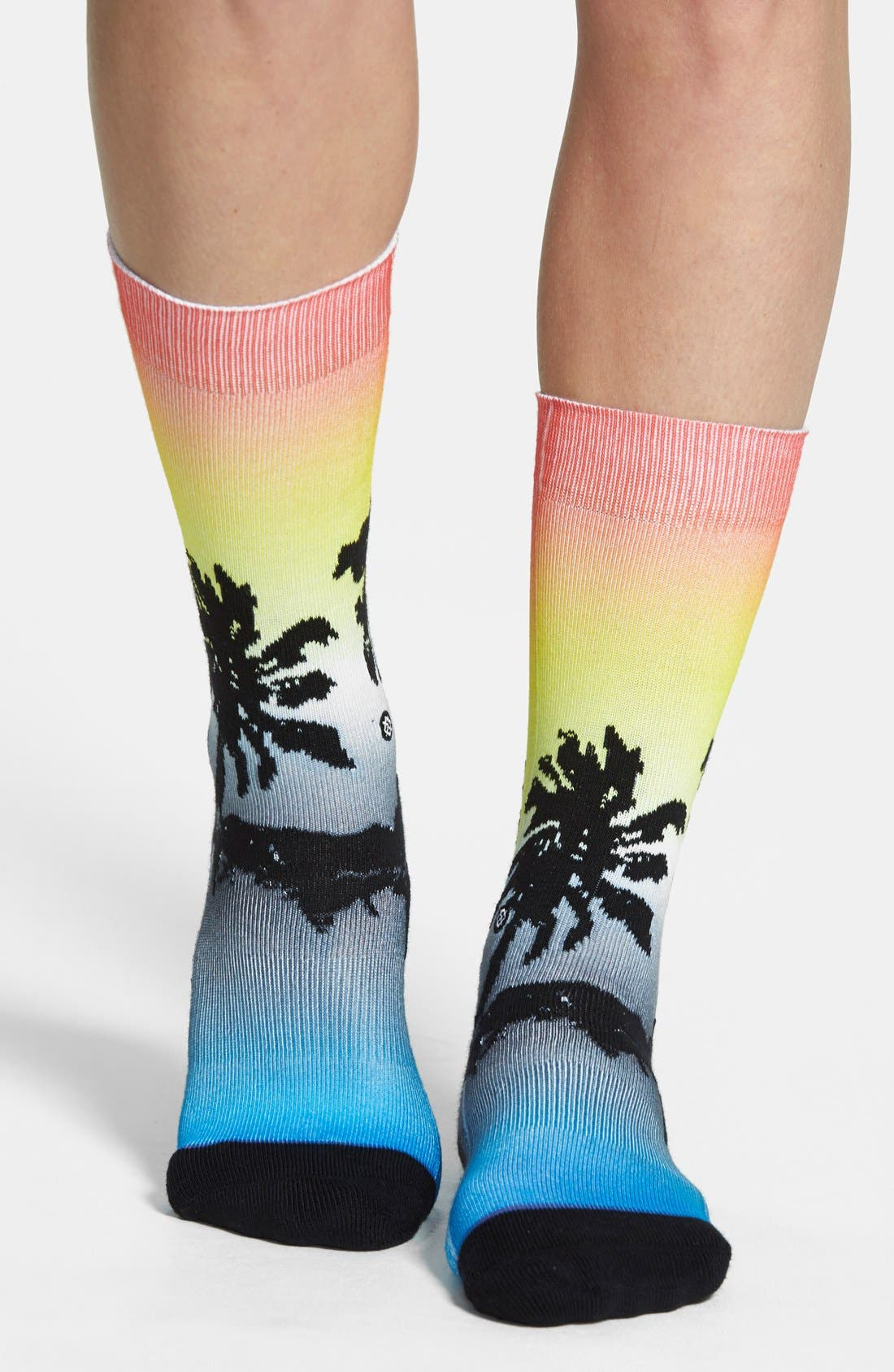 Alternate Image 2  - Stance 'XXX' Tropical Print Socks