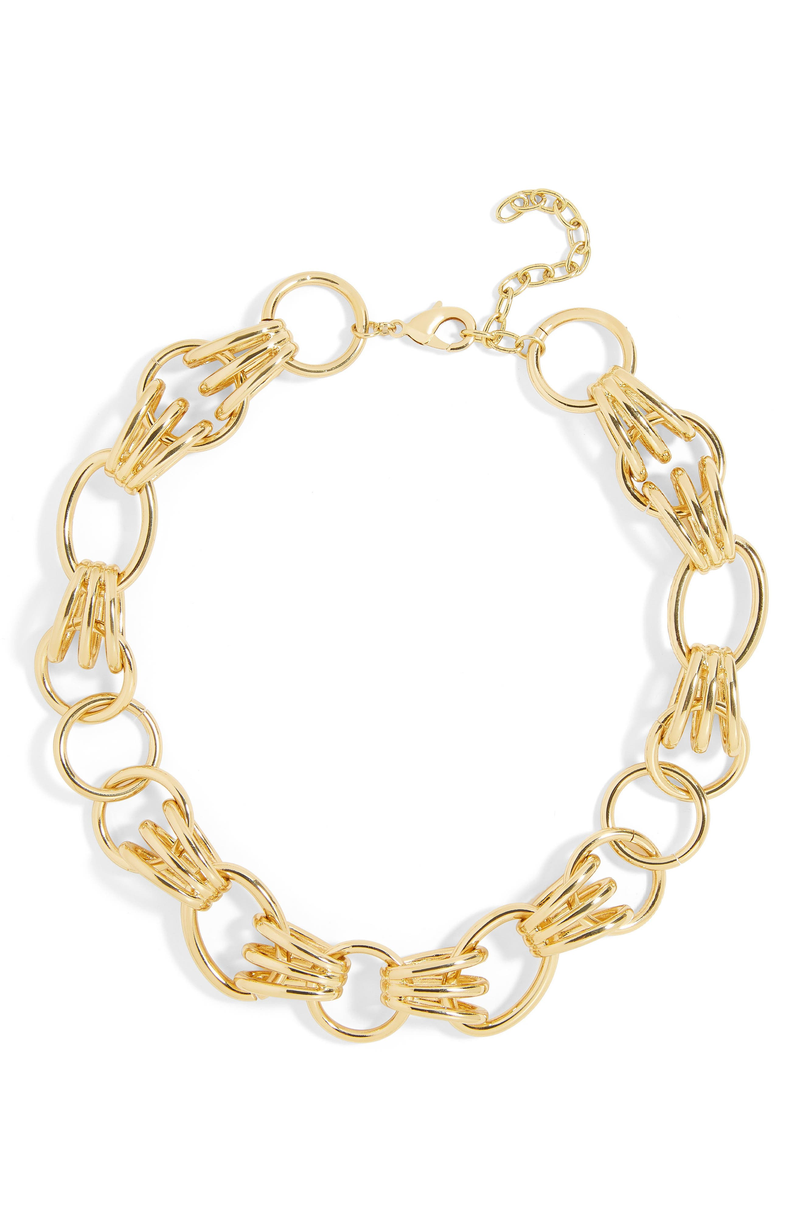 Anitra Statement Necklace,                         Main,                         color, Gold