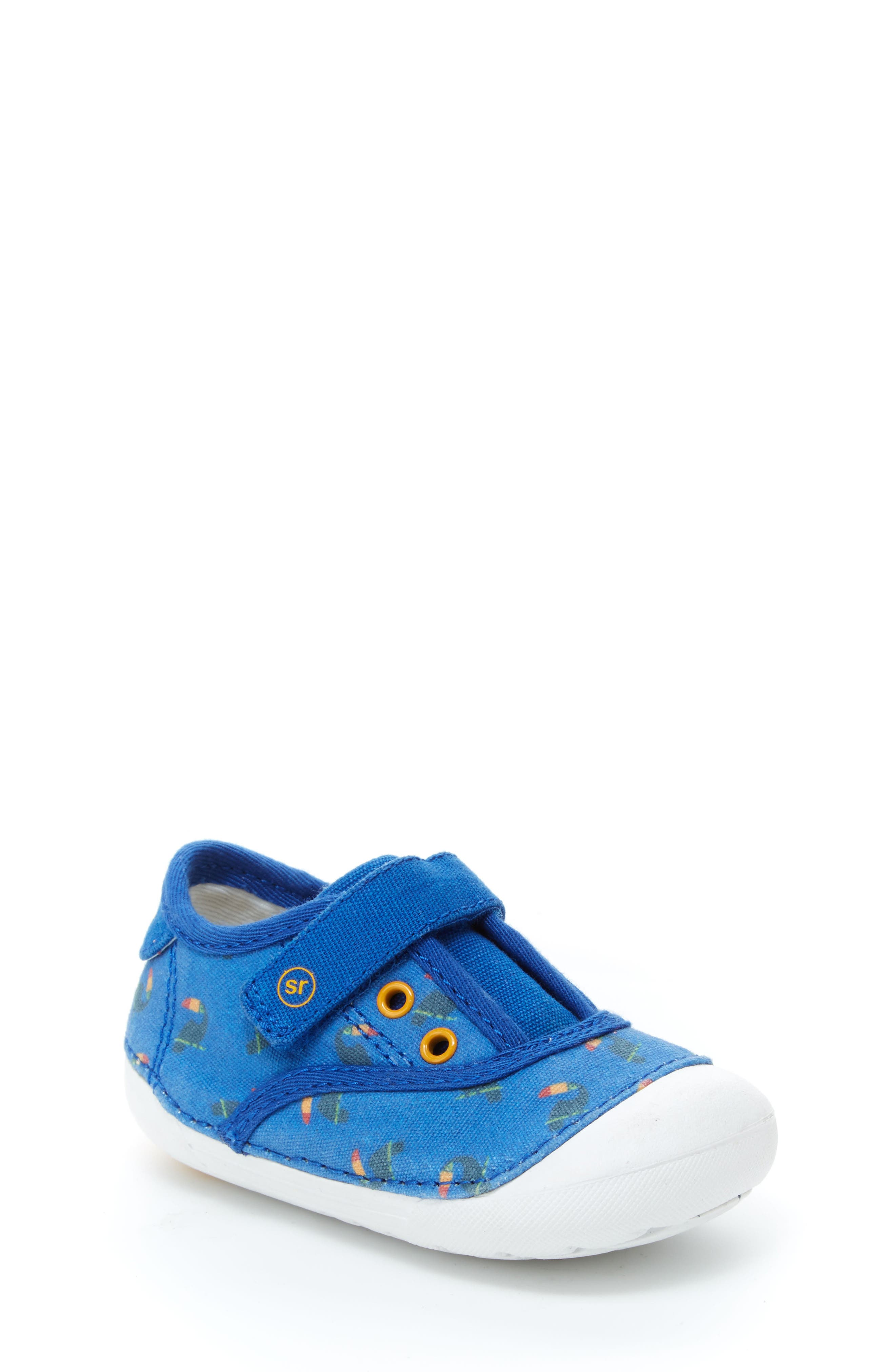 Soft Motion Avery Sneaker,                             Main thumbnail 1, color,                             Blue Toucan