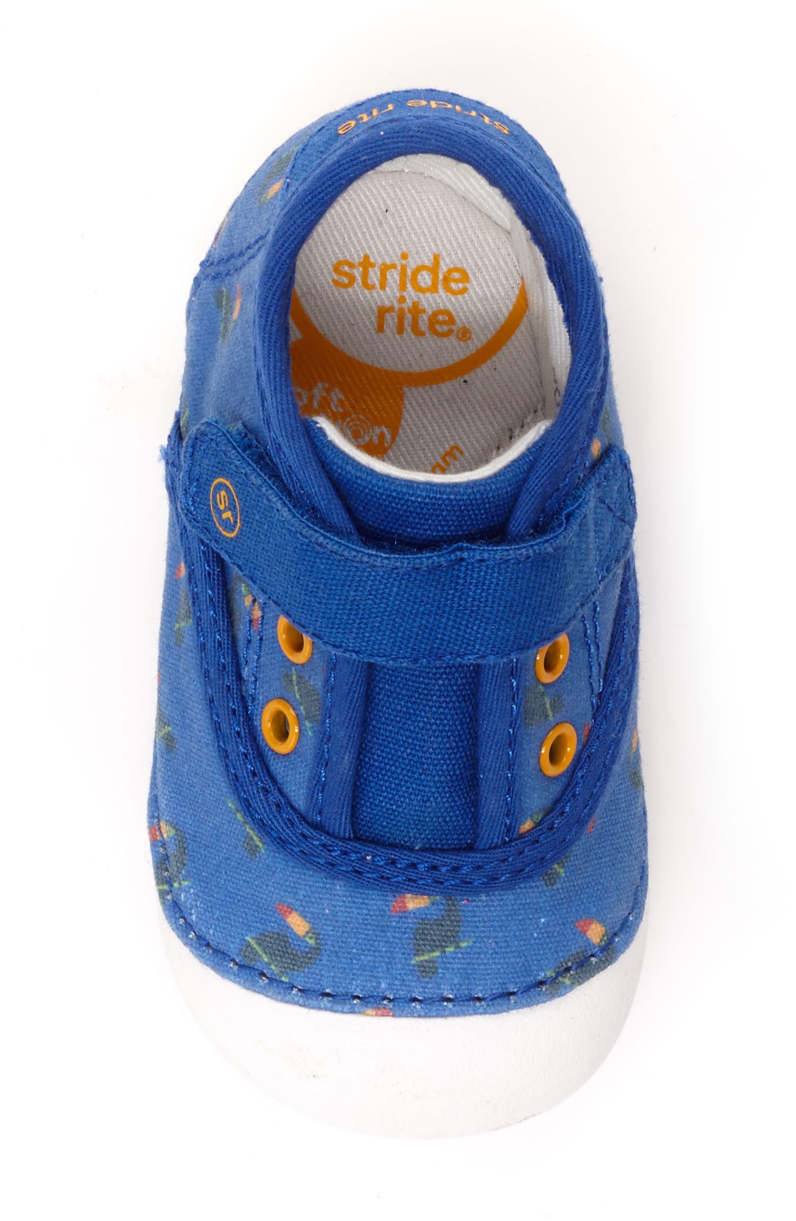 Soft Motion Avery Sneaker,                             Alternate thumbnail 4, color,                             Blue Toucan