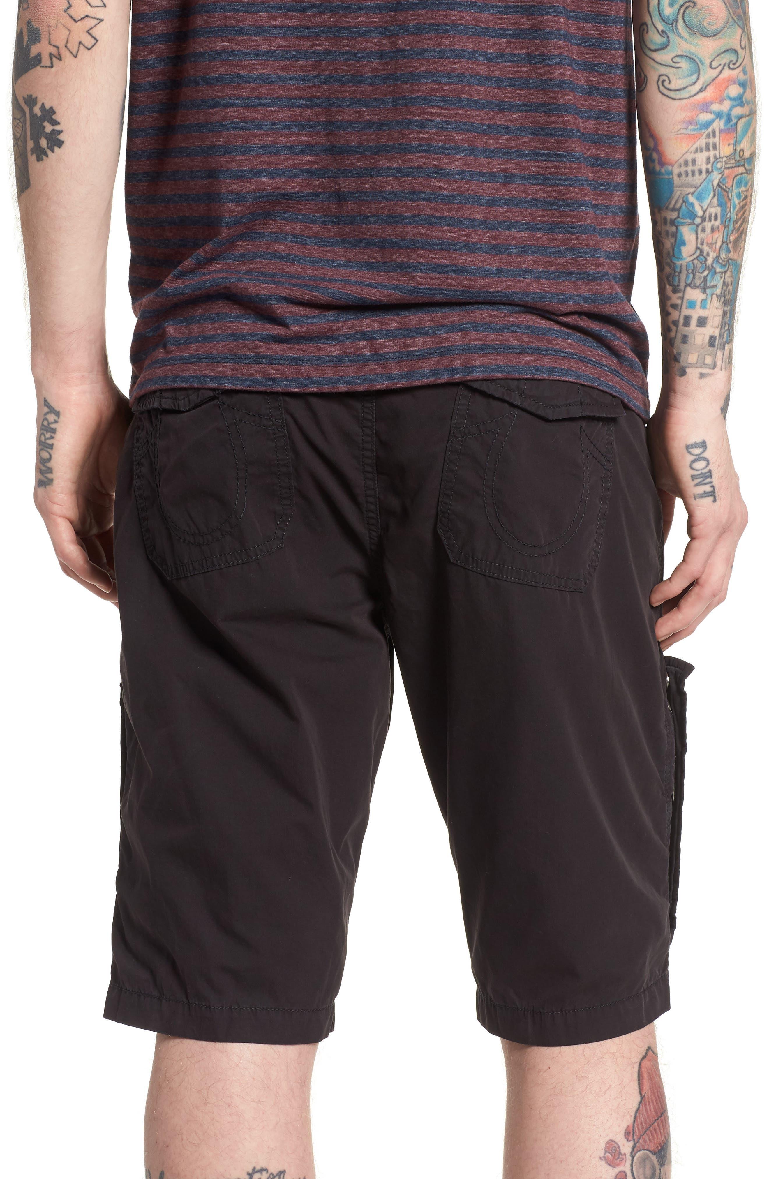 Officer Field Shorts,                             Alternate thumbnail 2, color,                             Black