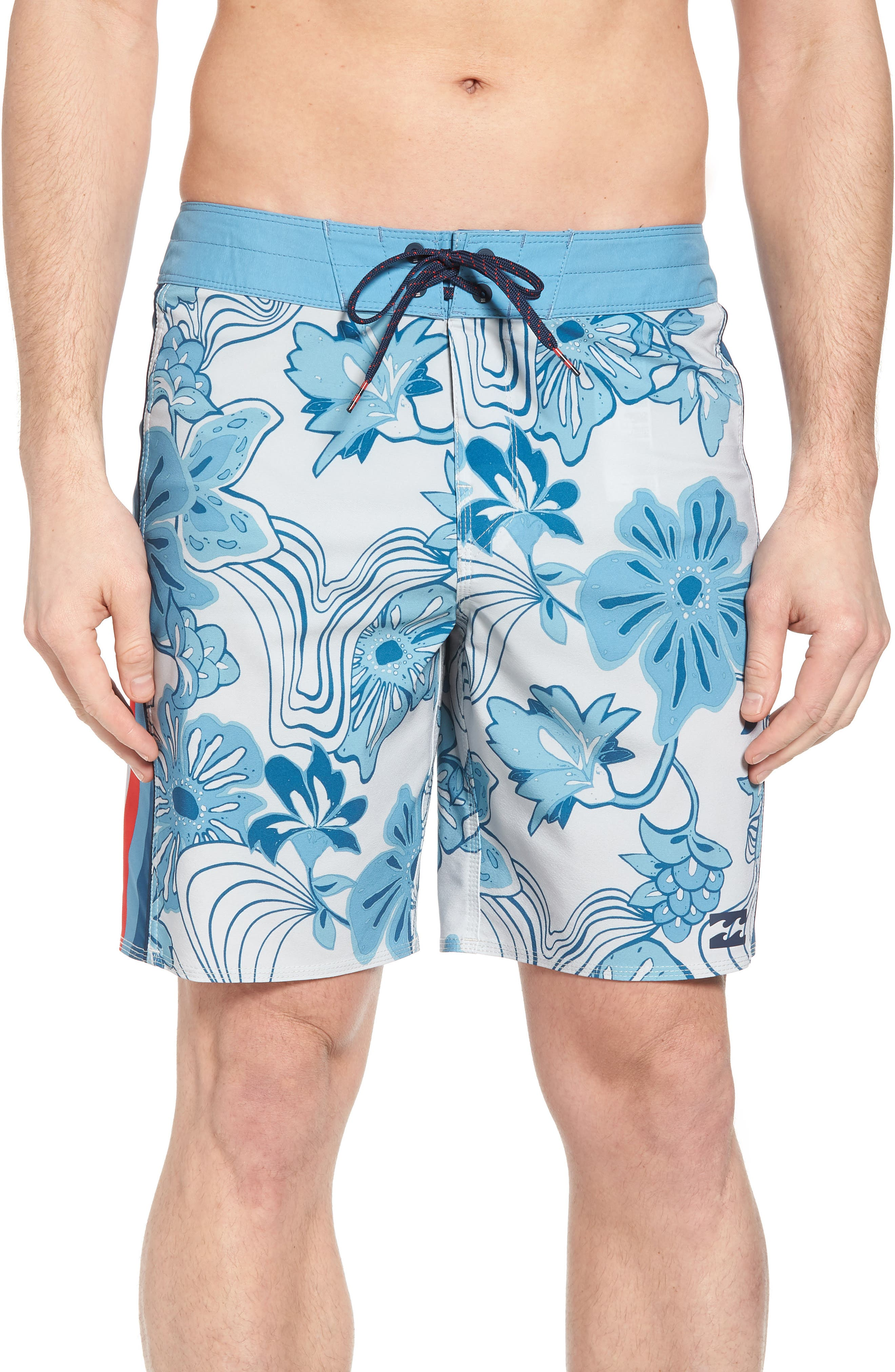 D Bah Airlite Board Shorts,                         Main,                         color, Stone