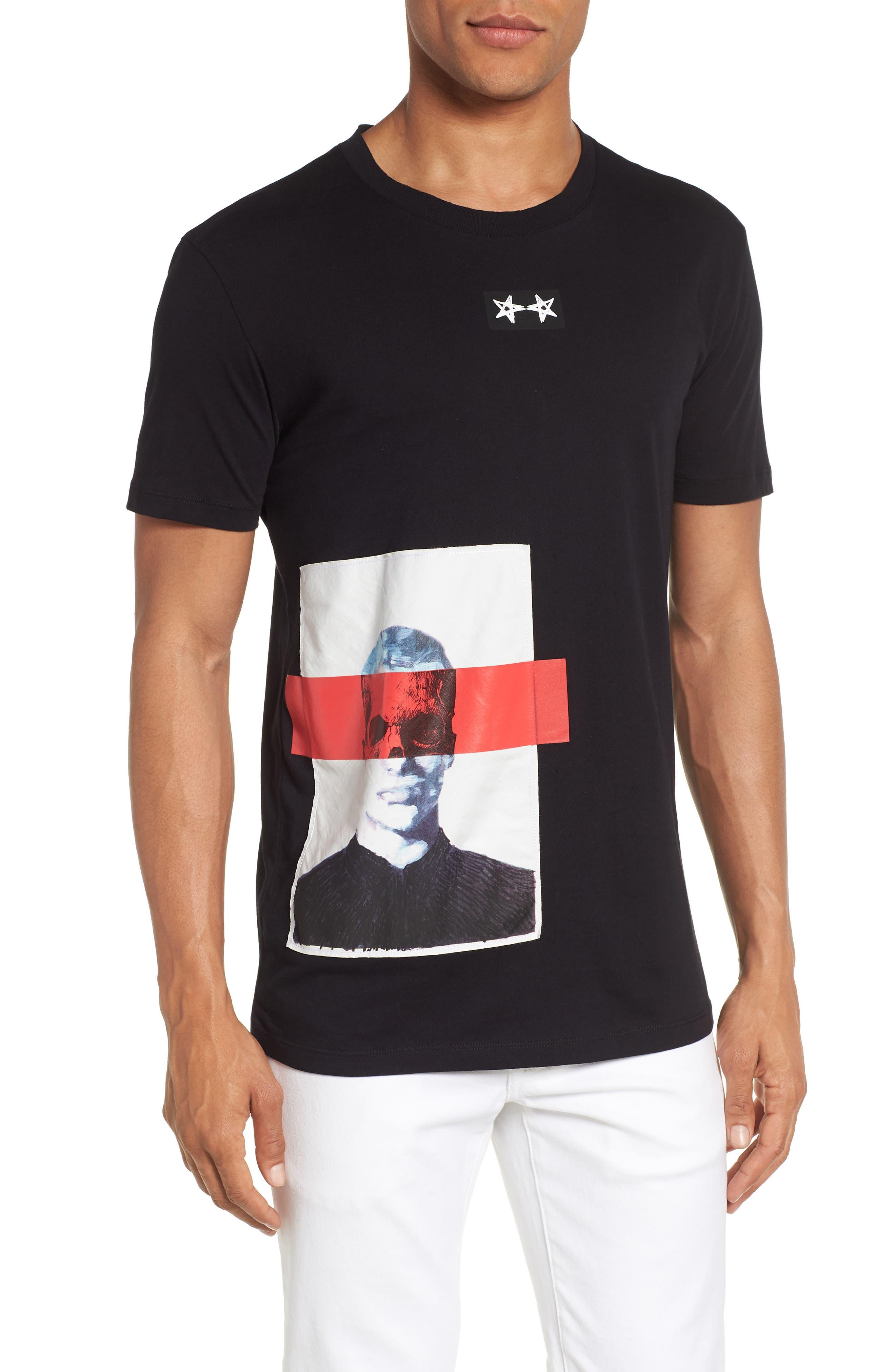 Dimage T-Shirt,                             Main thumbnail 1, color,                             Black