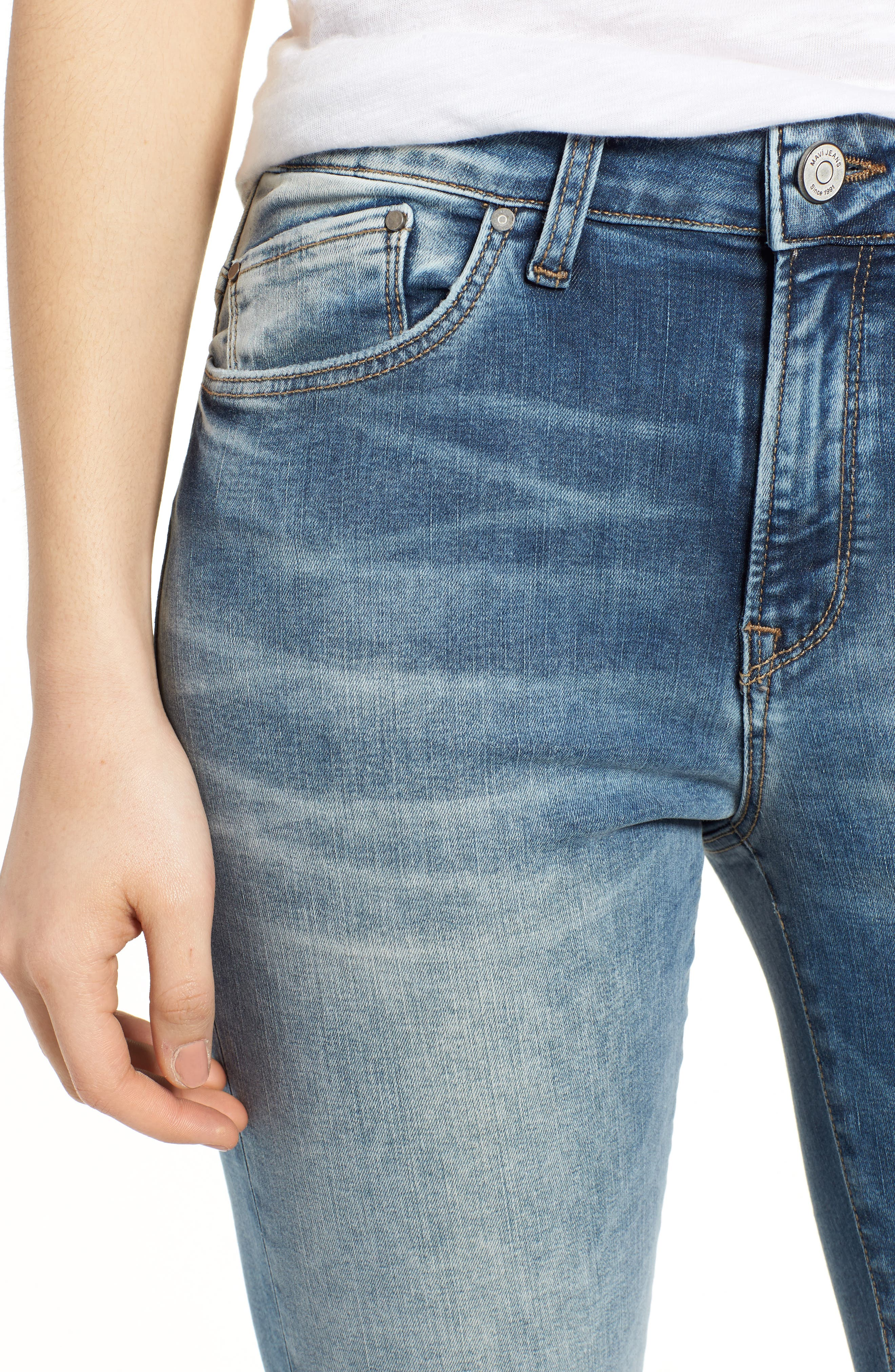 Alissa Ankle Jeans,                             Alternate thumbnail 4, color,                             Random Nolita