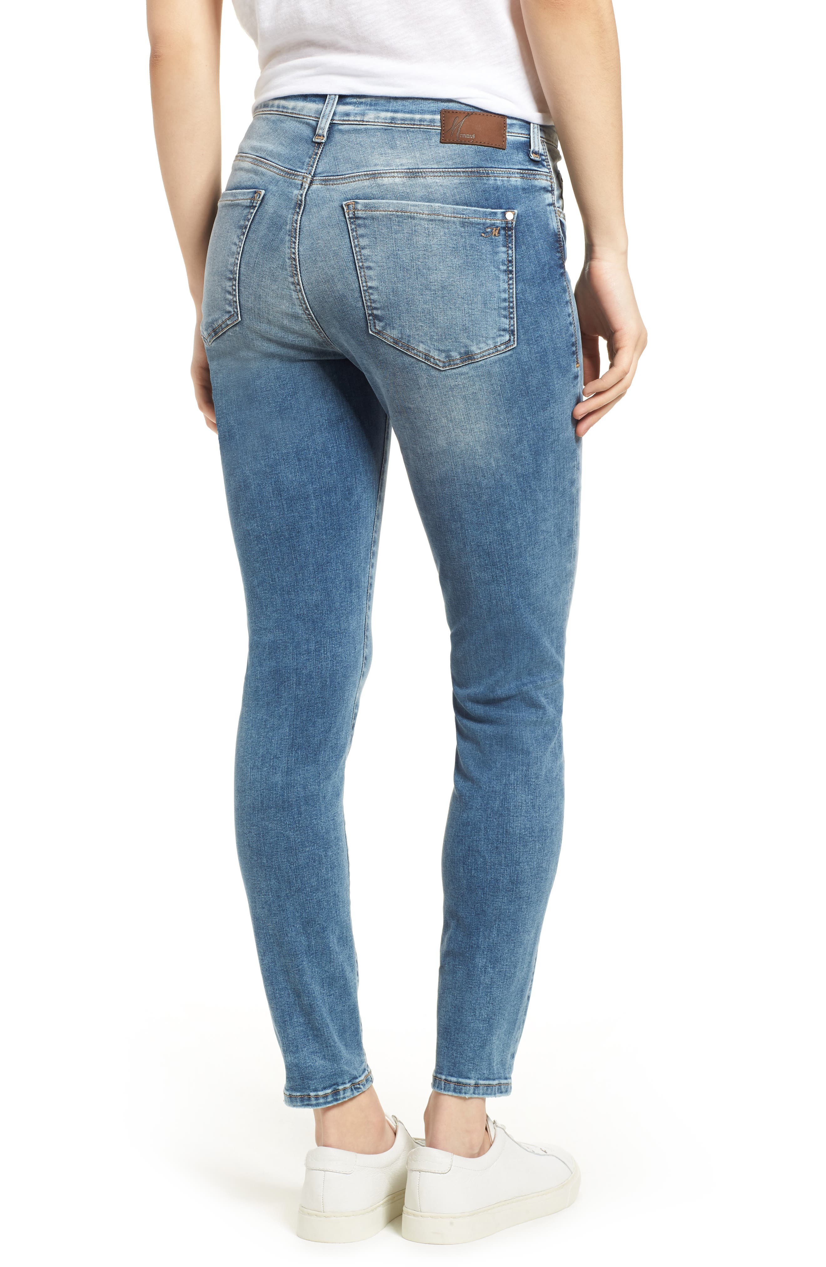 Alissa Ankle Jeans,                             Alternate thumbnail 2, color,                             Random Nolita