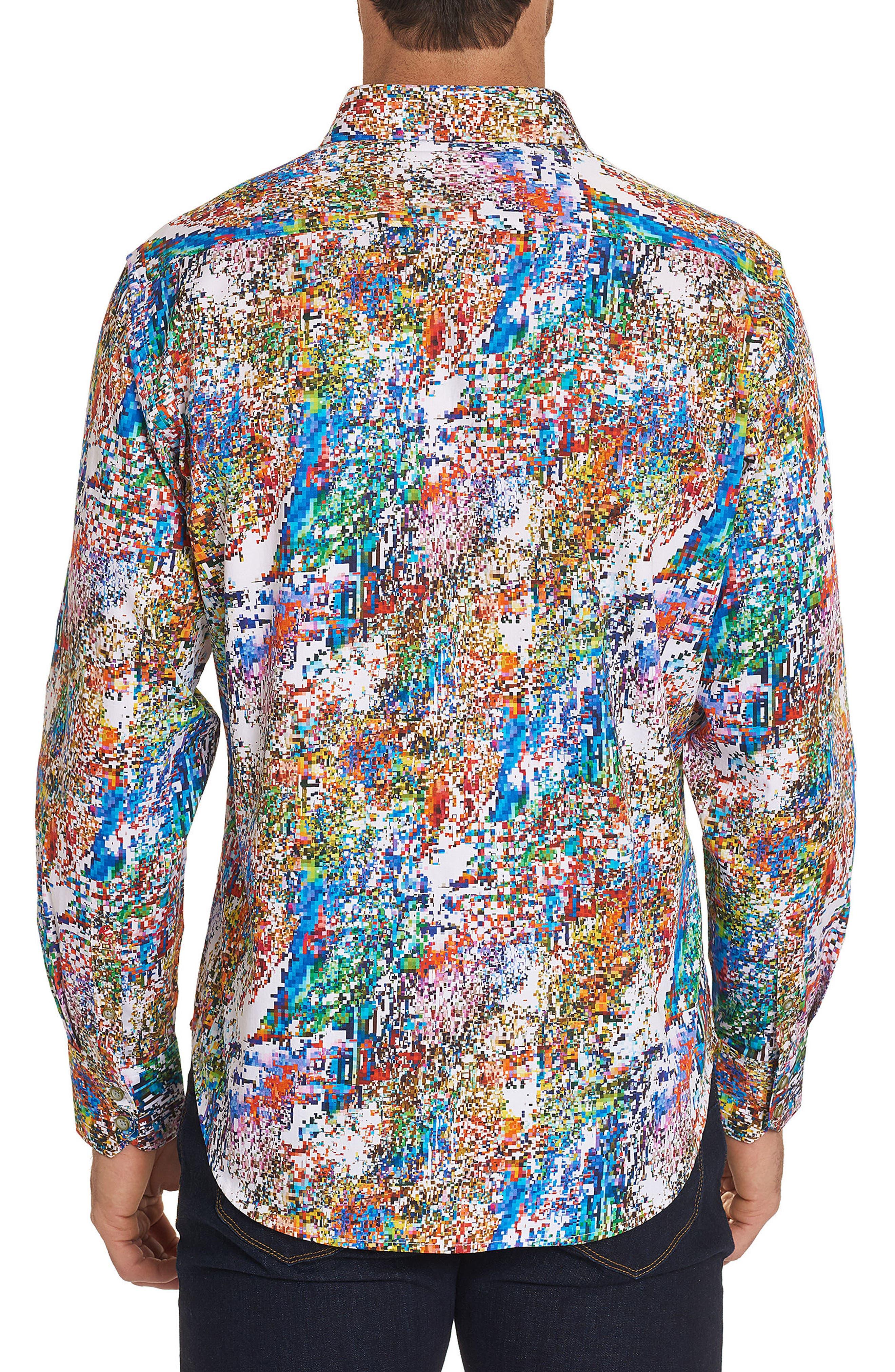 Splash Classic Fit Sport Shirt,                             Alternate thumbnail 2, color,                             Multi