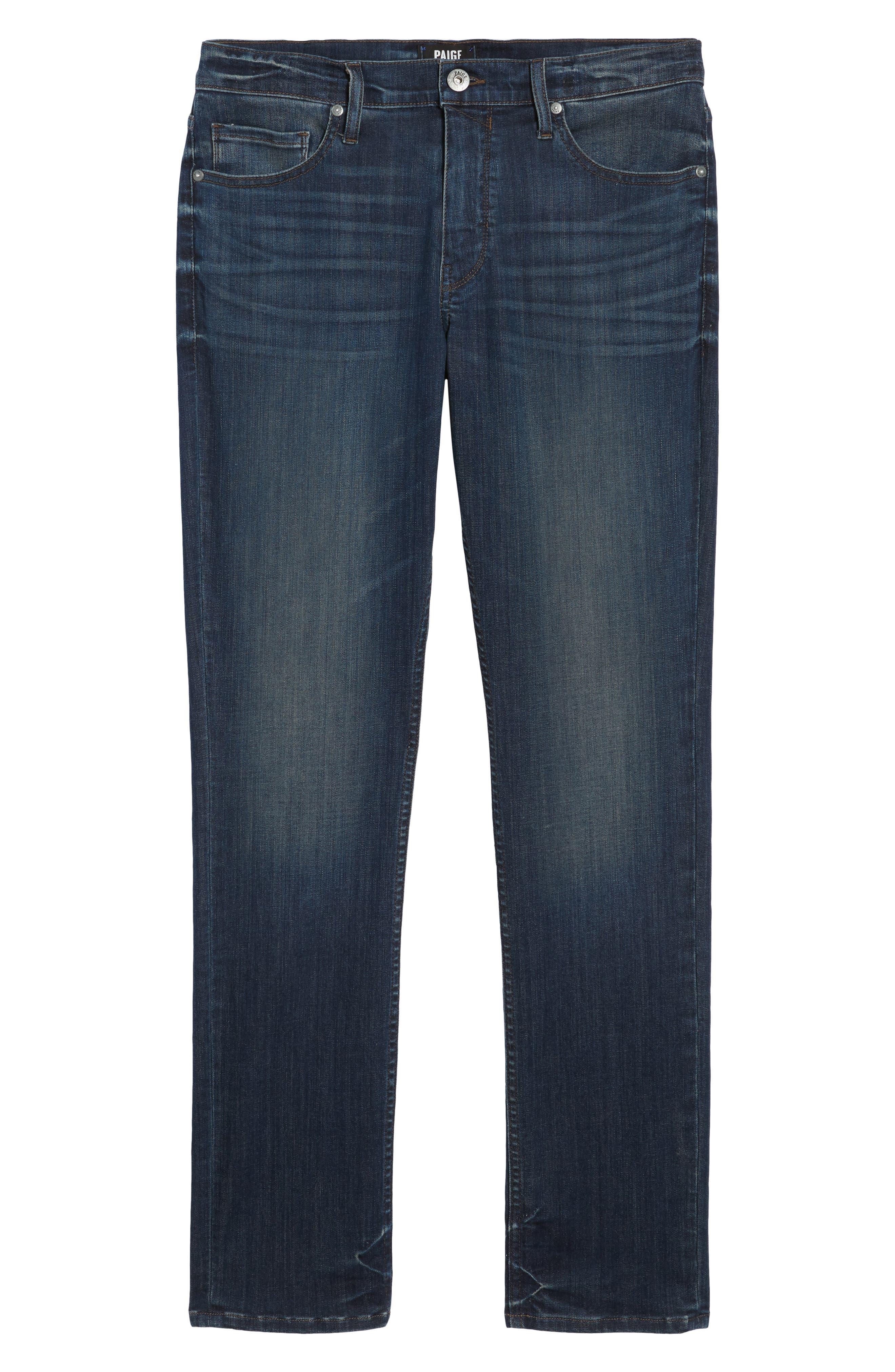 Transcend - Lennox Slim Fit Jeans,                             Alternate thumbnail 6, color,                             Freeman