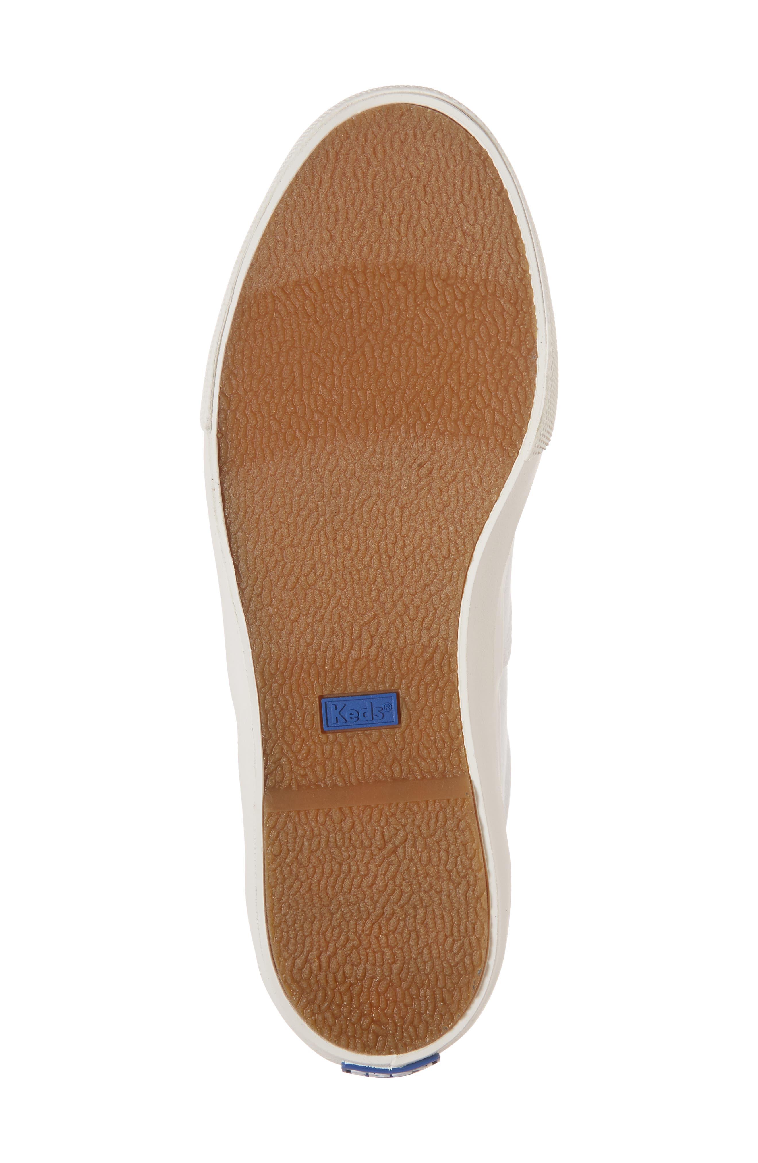 Anchor Sneaker,                             Alternate thumbnail 6, color,                             White