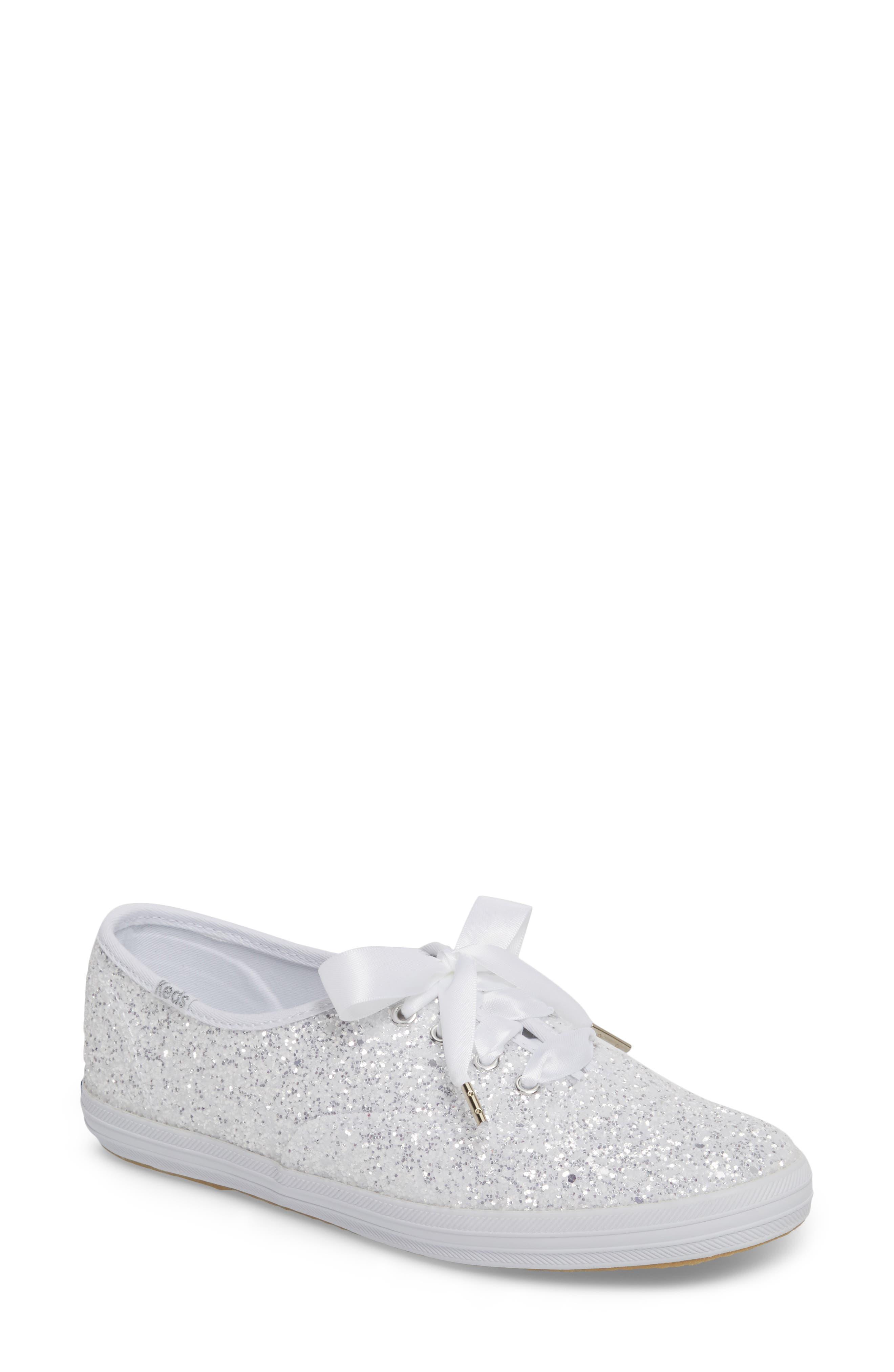 Main Image - Keds® for kate spade new york glitter sneaker (Women)