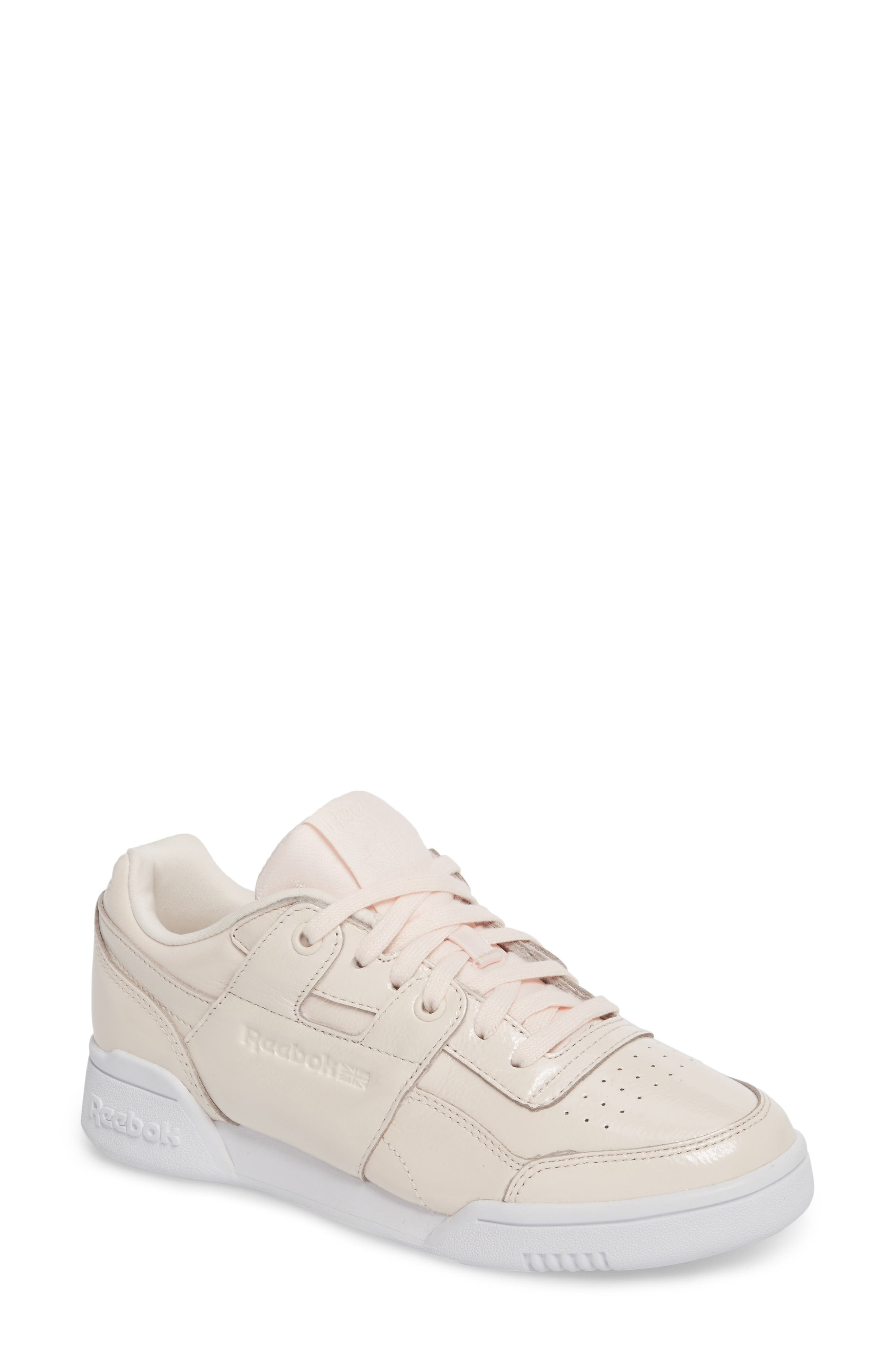 Reebok Workout Lo Plus Iridescent Sneaker (Women)