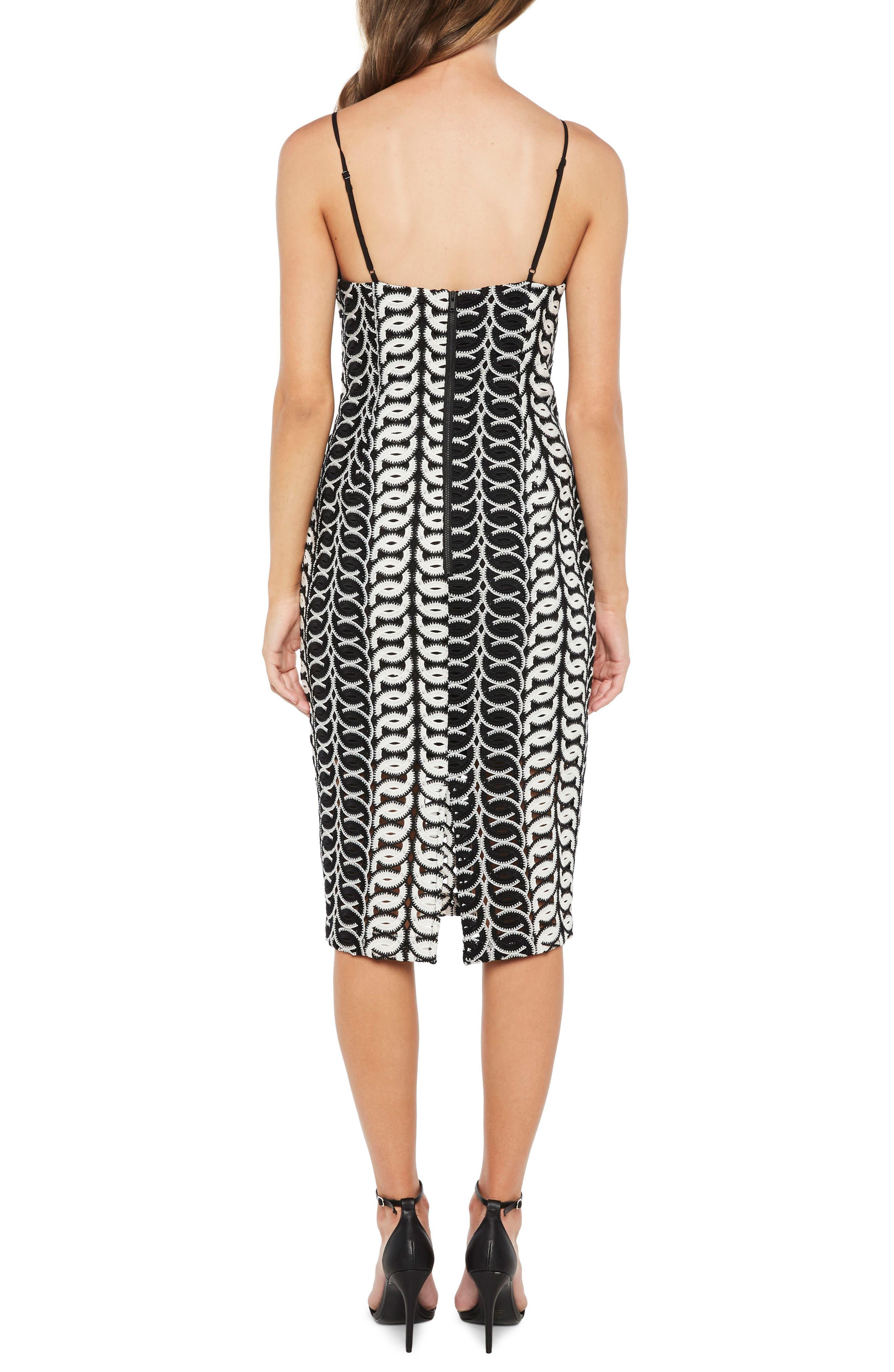 Germaine Lace Dress,                             Alternate thumbnail 2, color,                             Multi-Blk