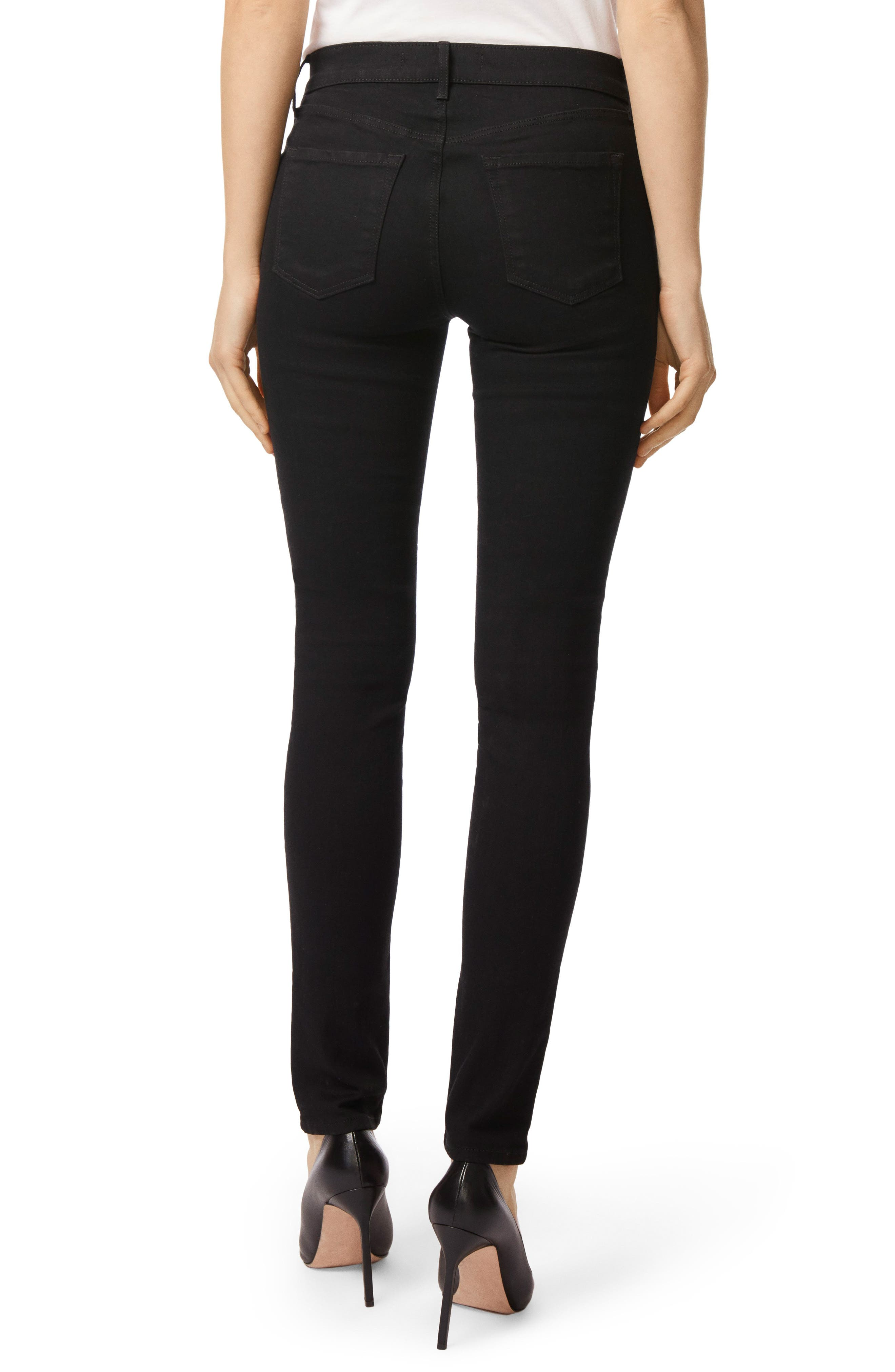 Alternate Image 2  - J Brand '811' Mid Rise Skinny Jeans (Photo Ready Vanity)