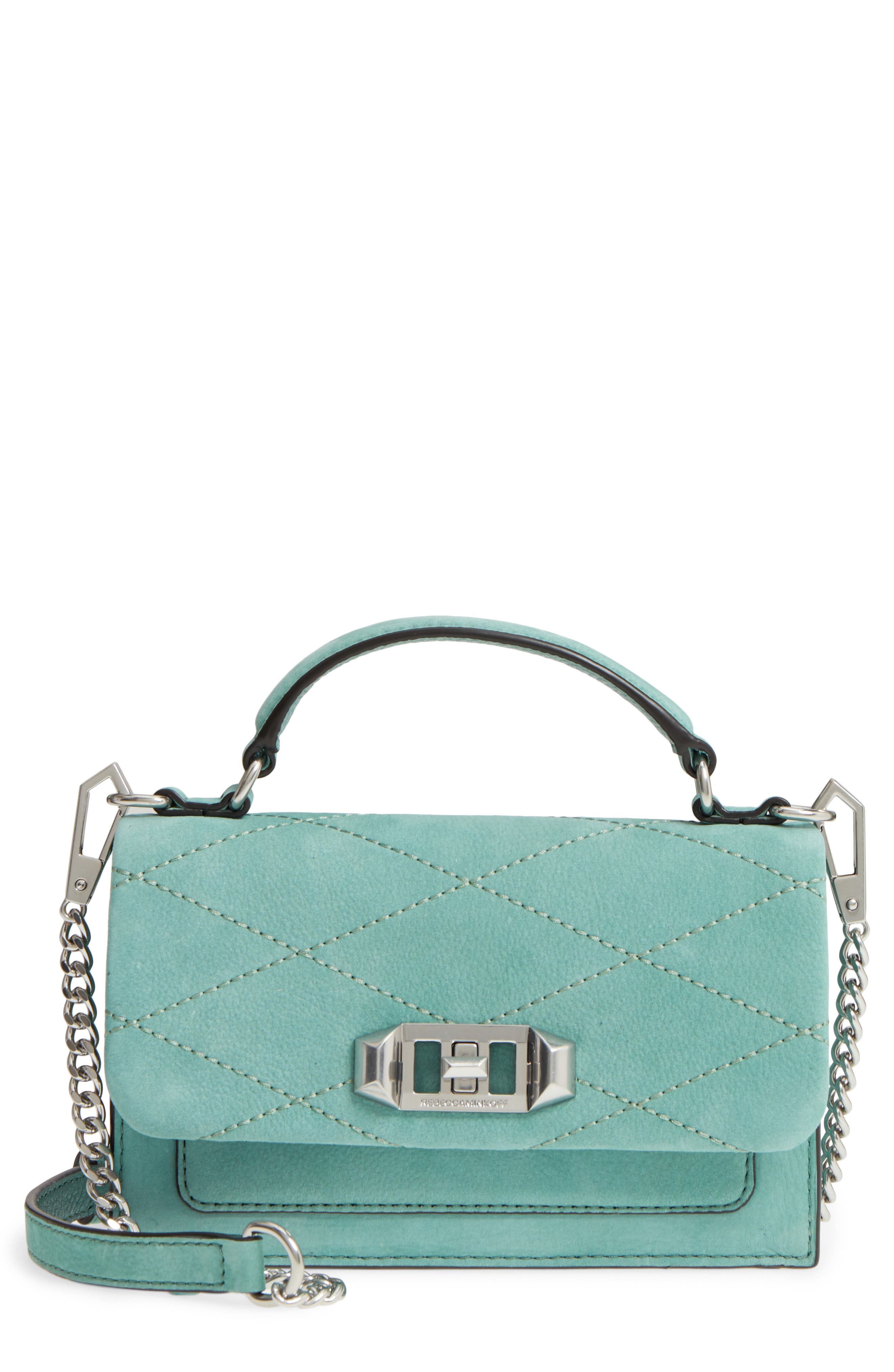 Alternate Image 1 Selected - Rebecca Minkoff Small Je T'aime Leather Crossbody Bag