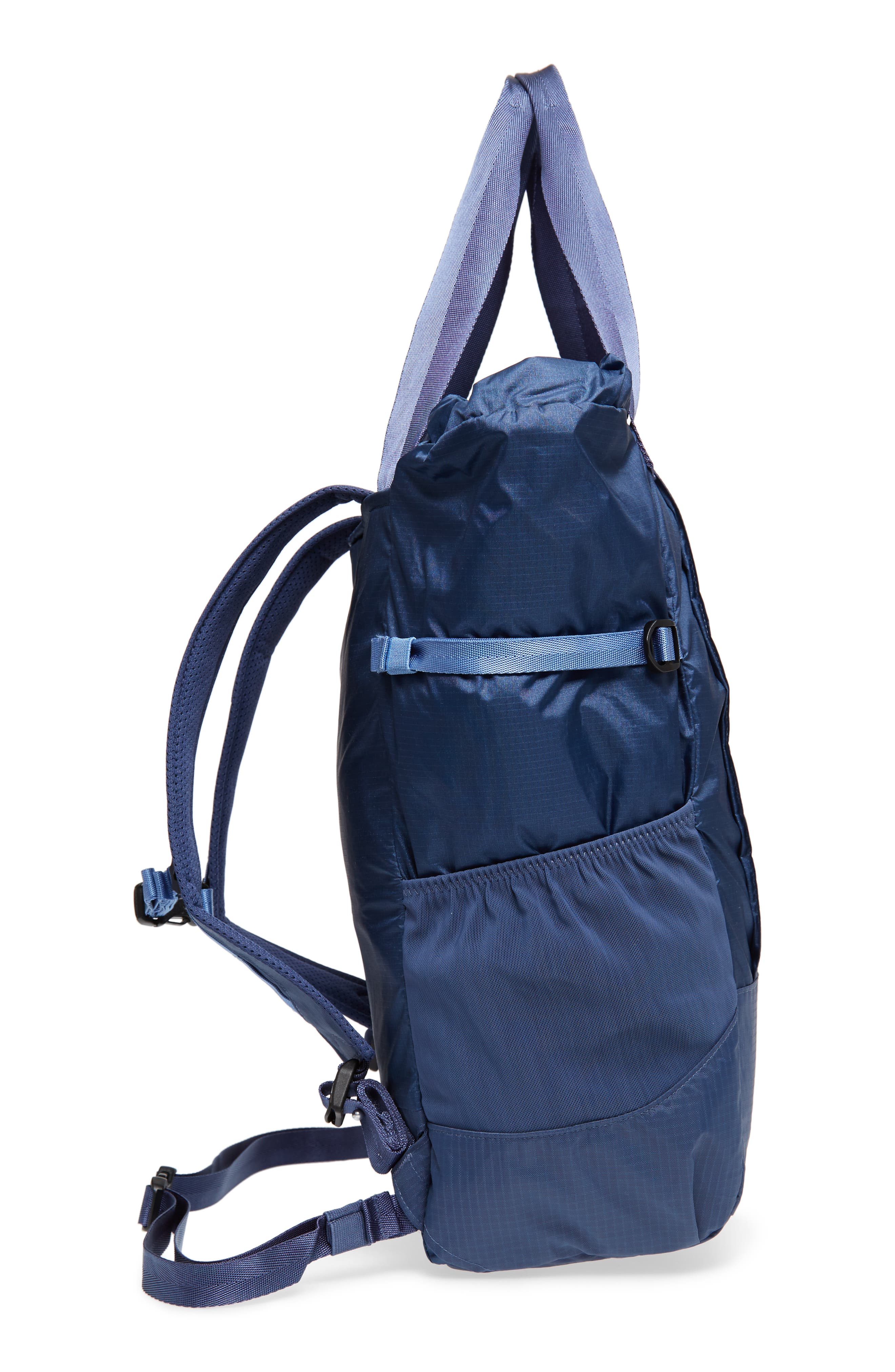 Lightweight Travel Tote Pack,                             Alternate thumbnail 4, color,                             Dolomite Blue