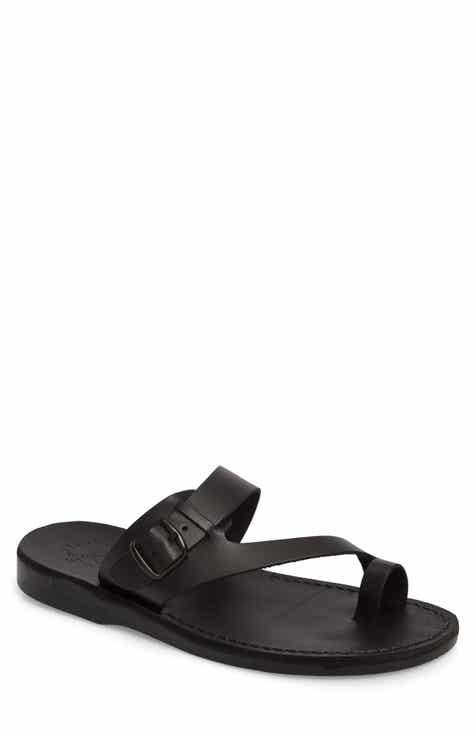 7b86fe9ab7cf Jerusalem Sandals Abner Toe Loop Sandal (Men)