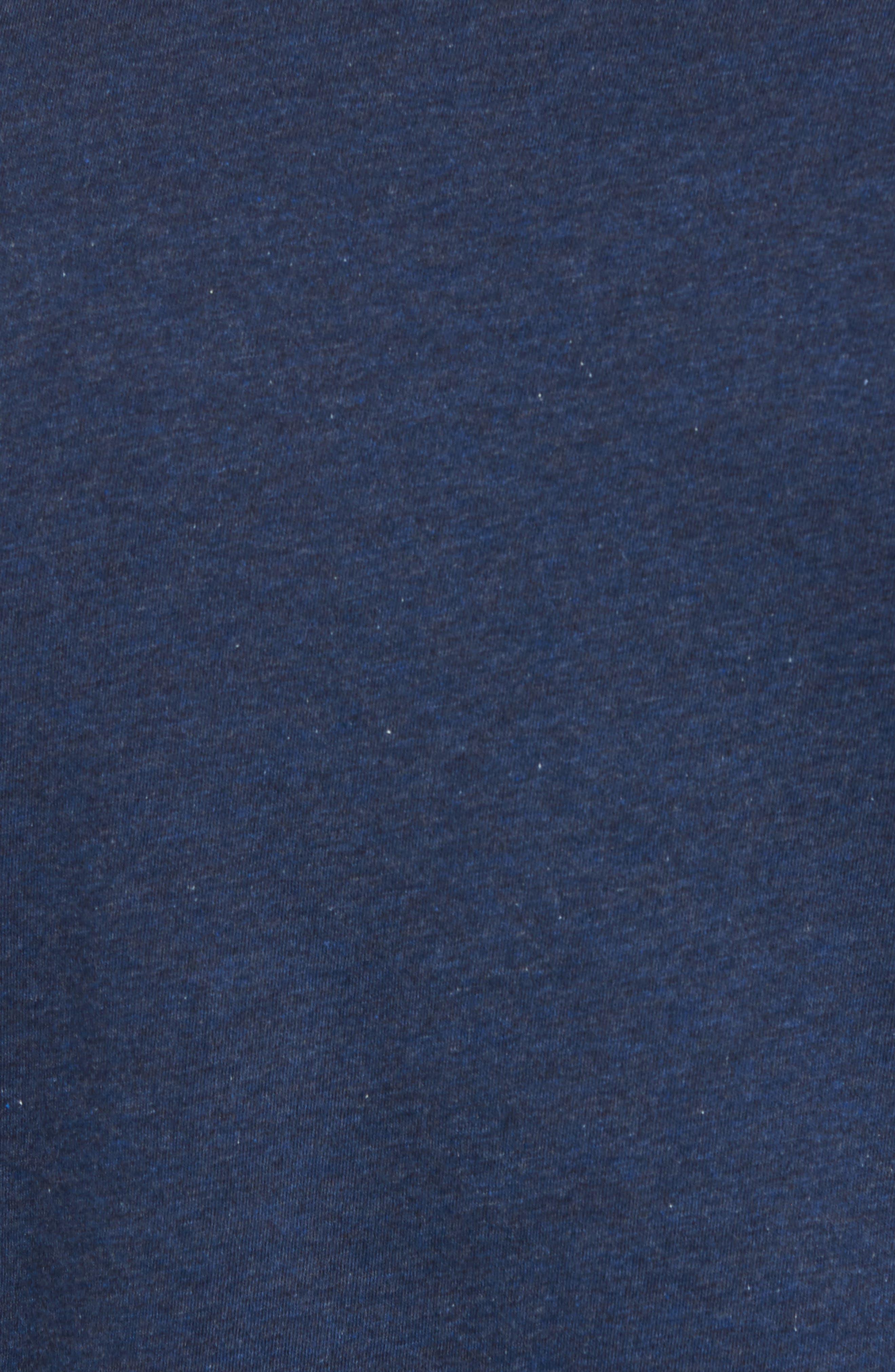 Bogue Pocket T-Shirt,                             Alternate thumbnail 5, color,                             Heather Blue Nights