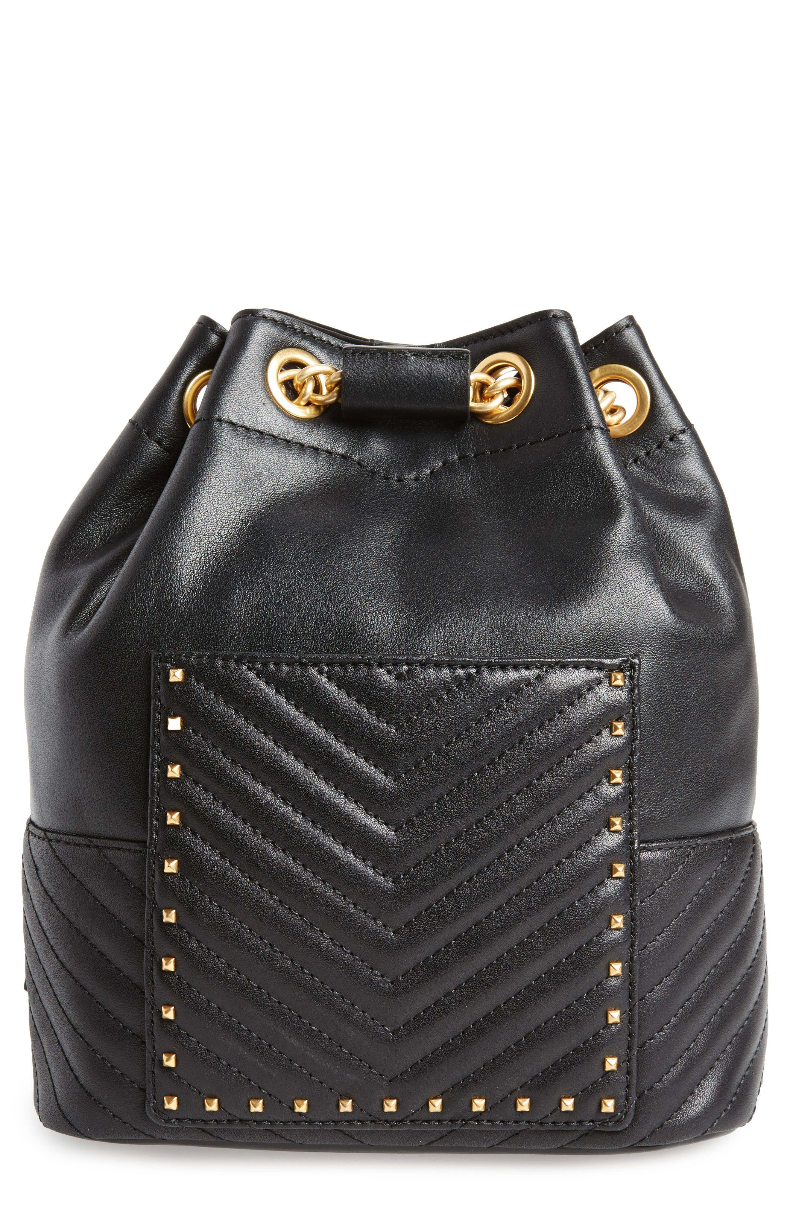 Rebecca Minkoff Becky Convertible Leather Backpack