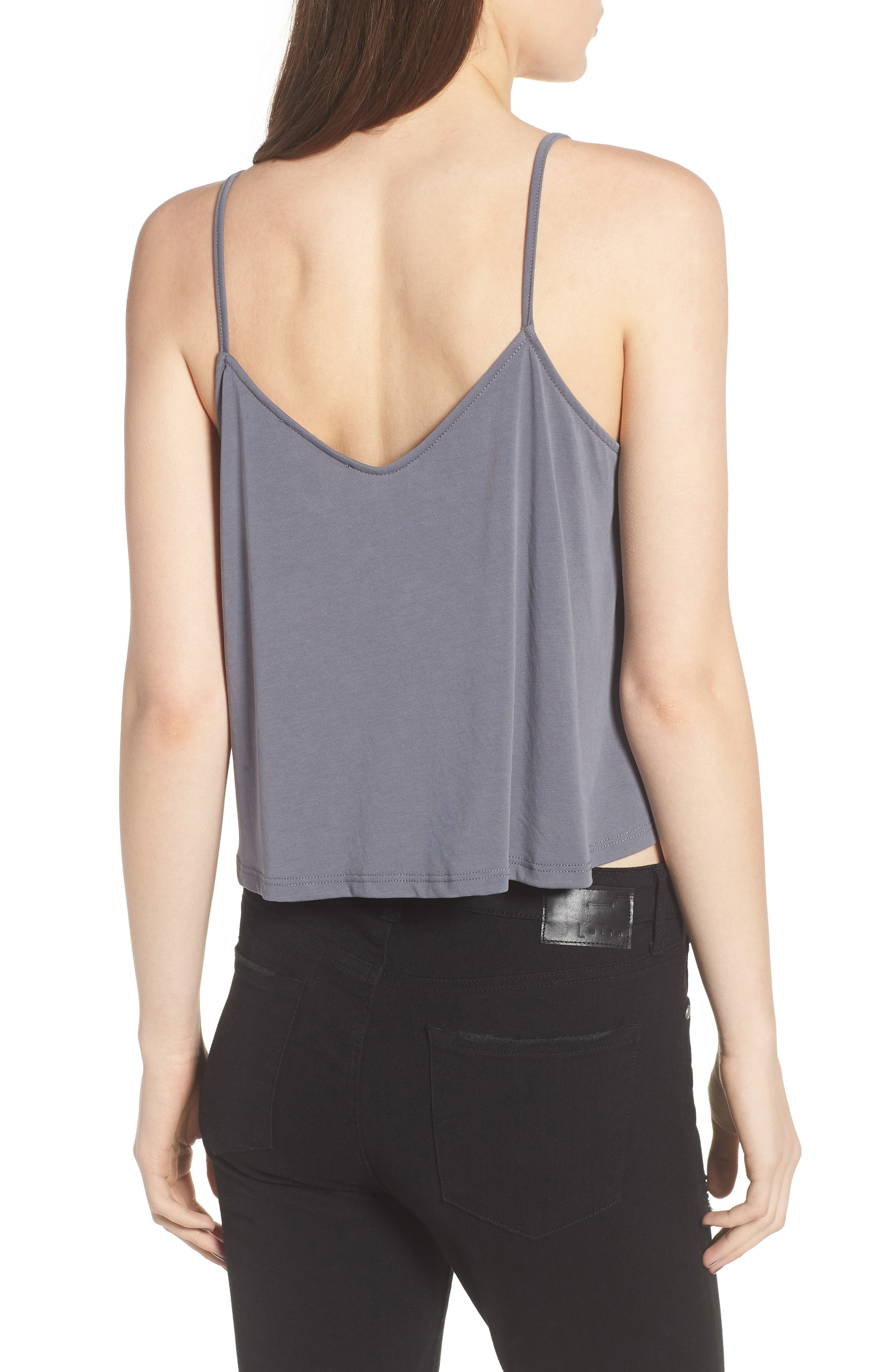 Swing Camisole,                             Alternate thumbnail 2, color,                             Grey