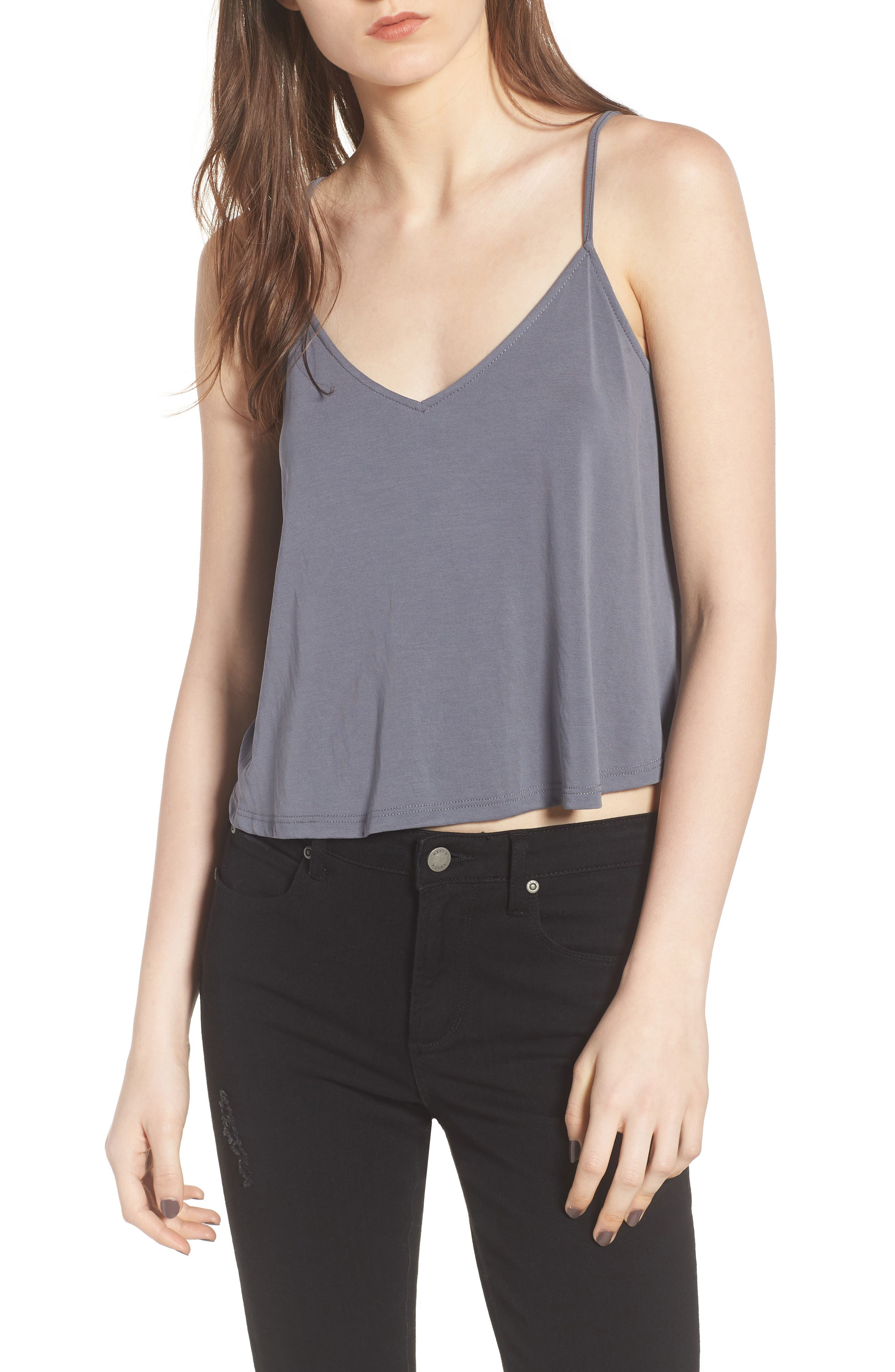 Swing Camisole,                             Main thumbnail 1, color,                             Grey