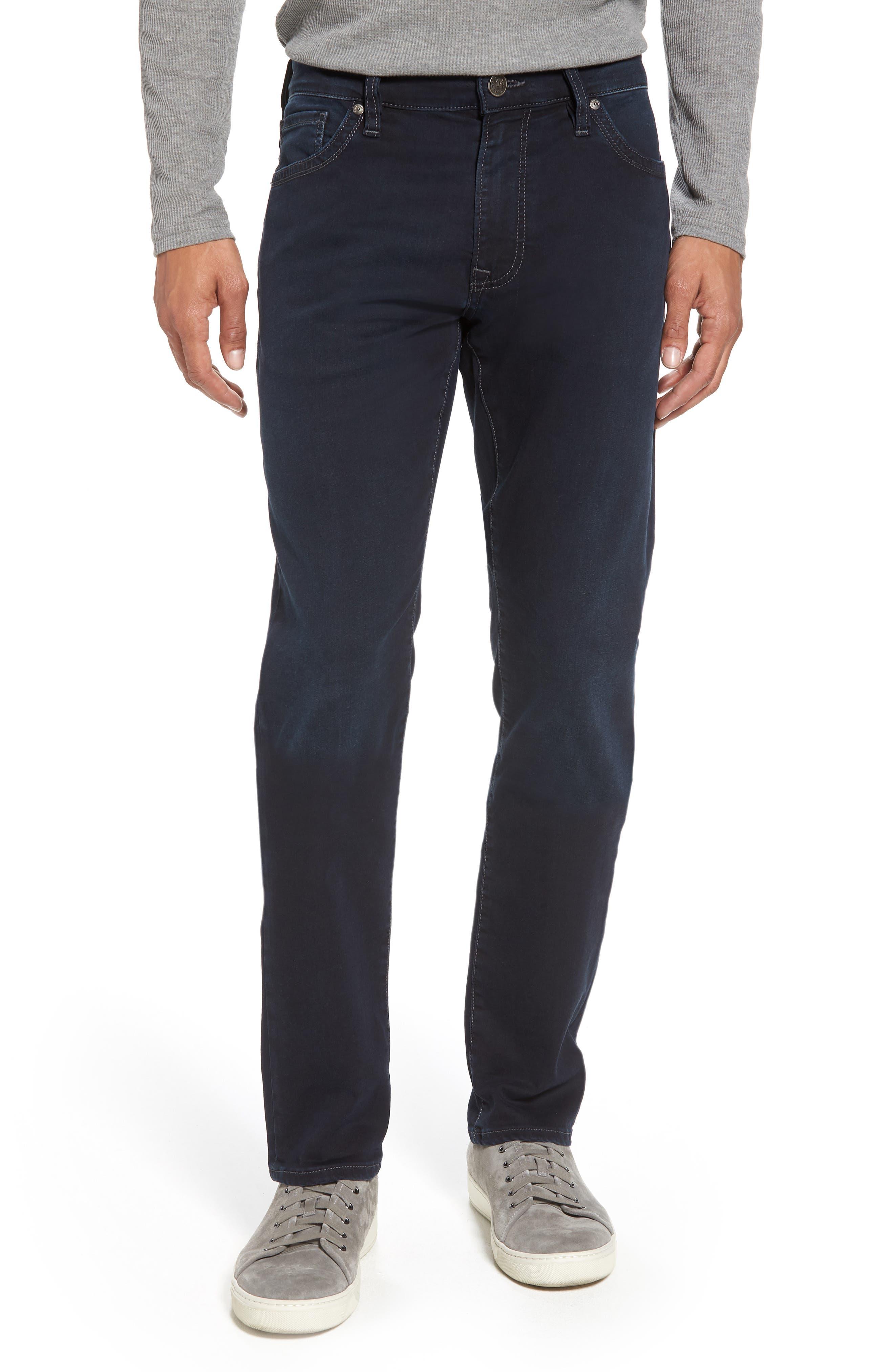 Cool Slim Straight Leg Jeans,                             Main thumbnail 1, color,                             Midnight Austin
