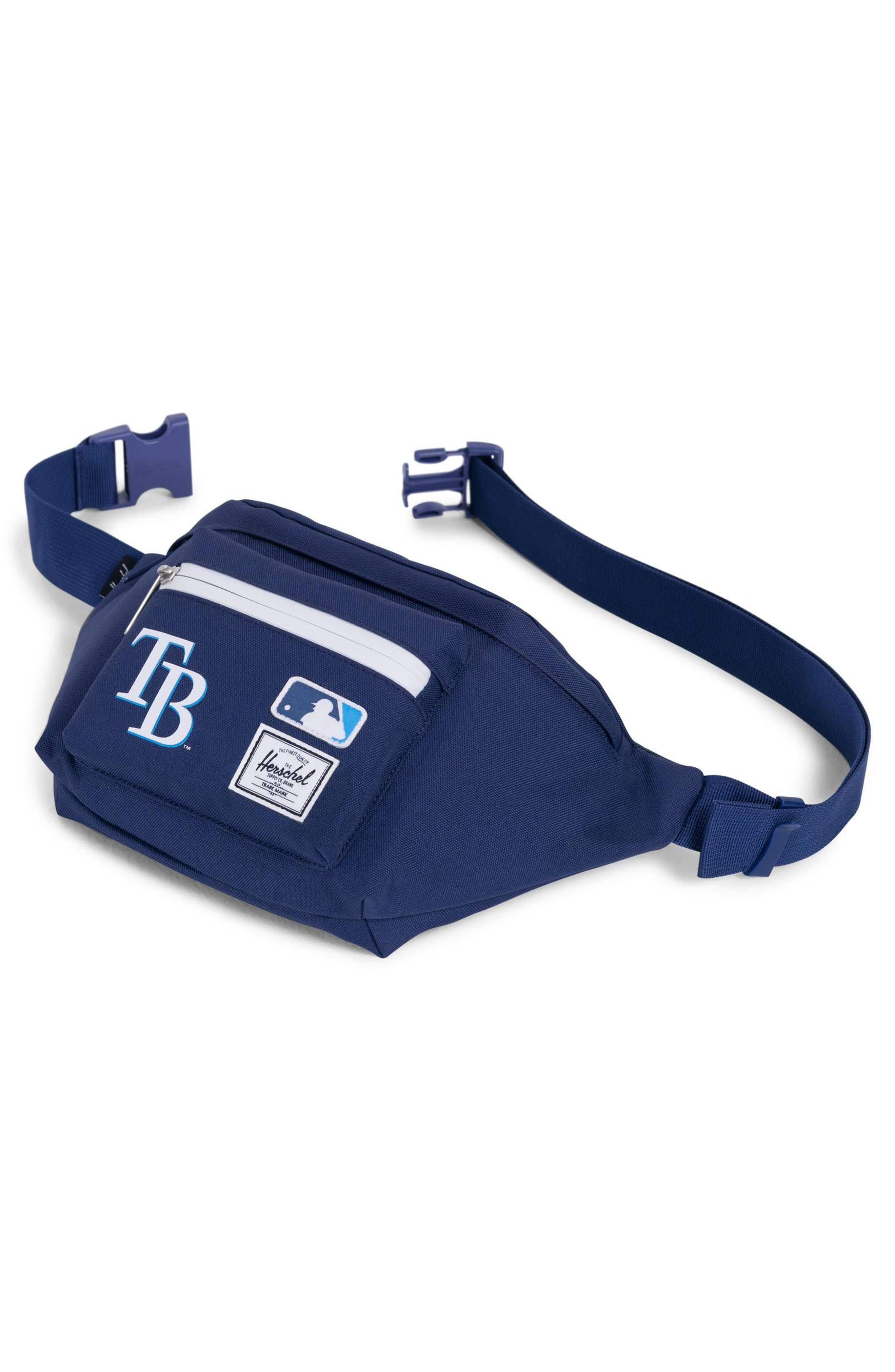 MLB American League Hip Pack,                             Alternate thumbnail 3, color,                             Tampa Bay Rays