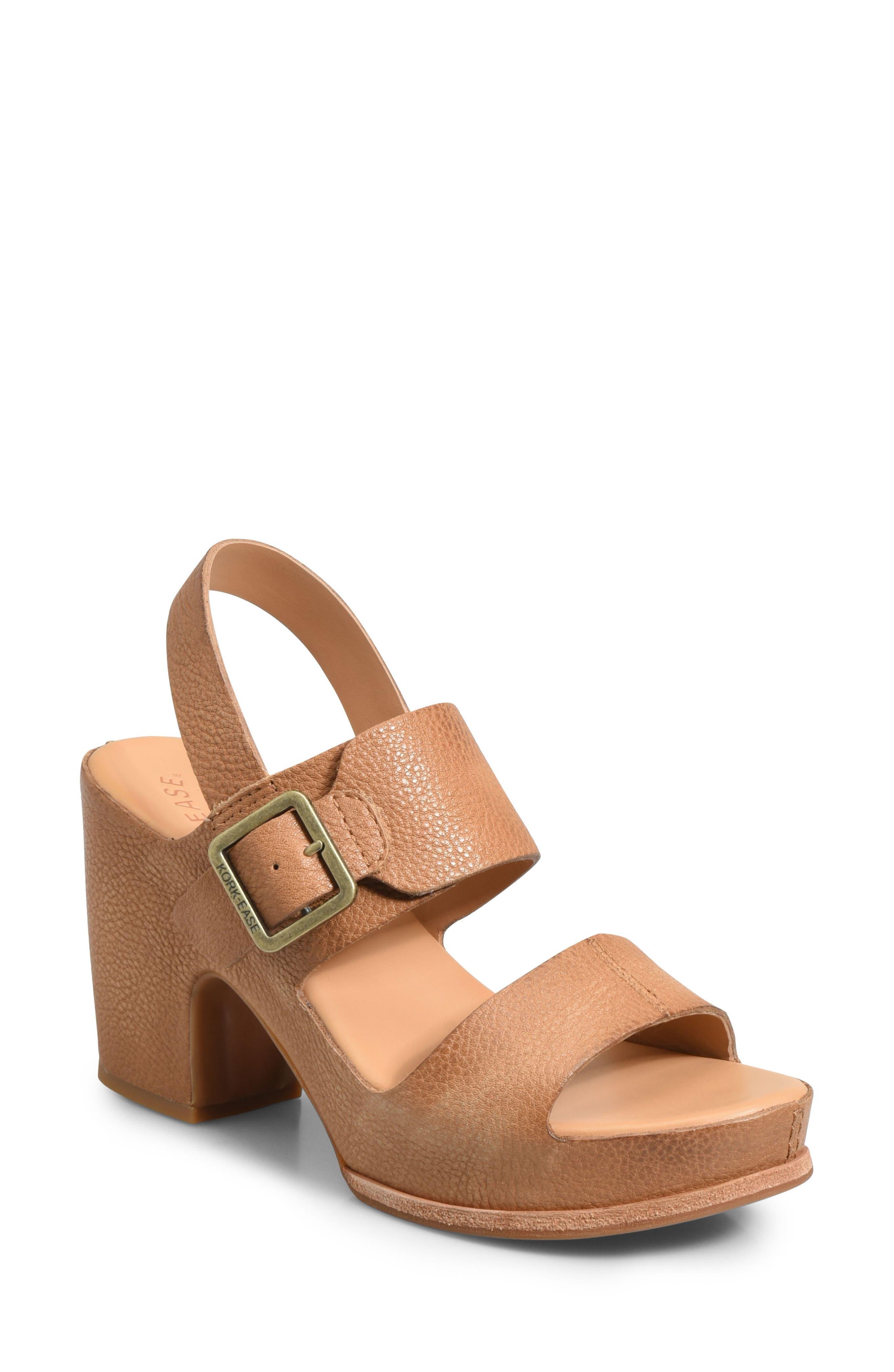 Alternate Image 1 Selected - Kork-Ease® San Carlos Platform Sandal (Women)