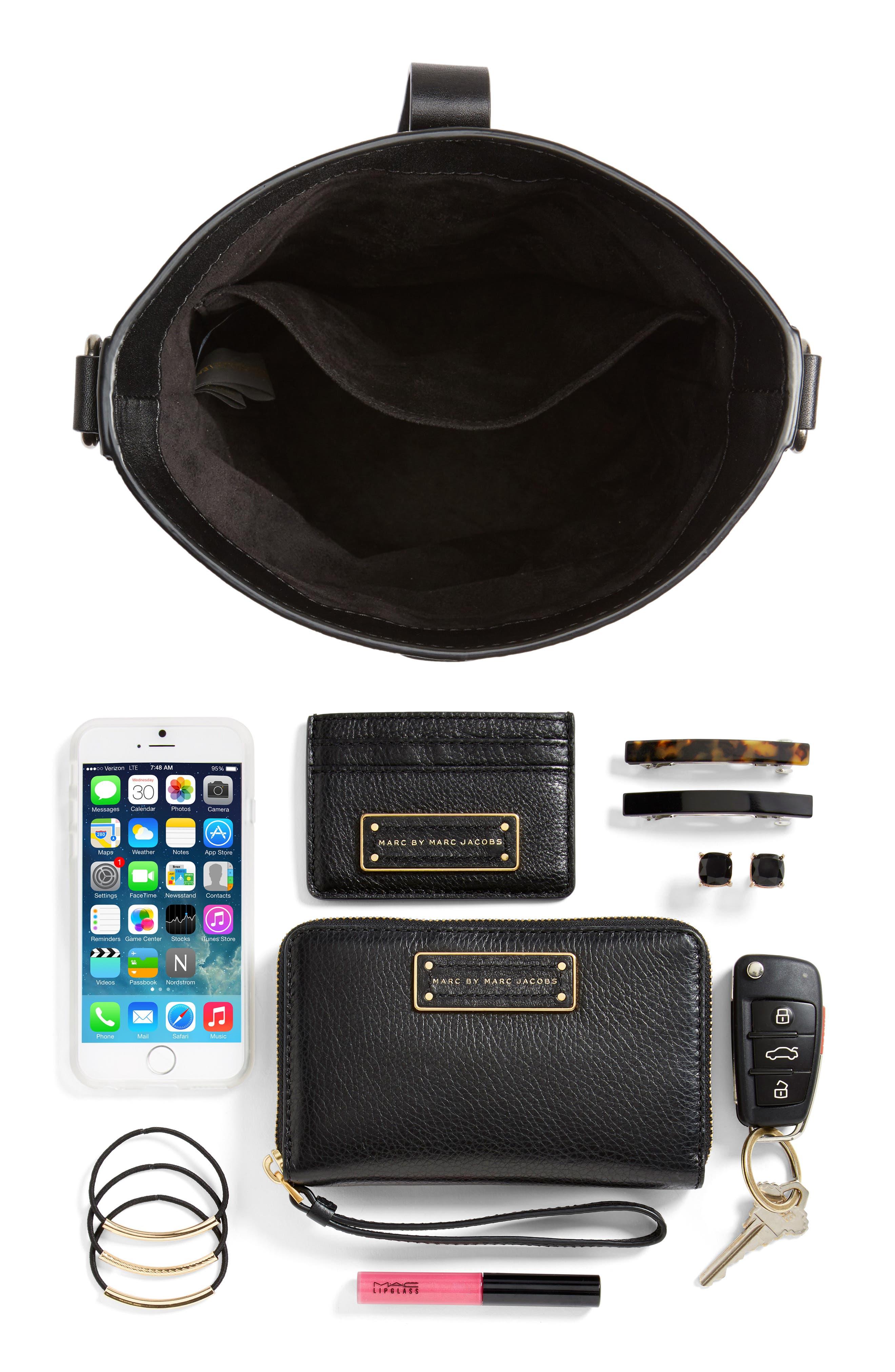 Alternate Image 8  - Rebecca Minkoff Slim Leather Bucket Bag