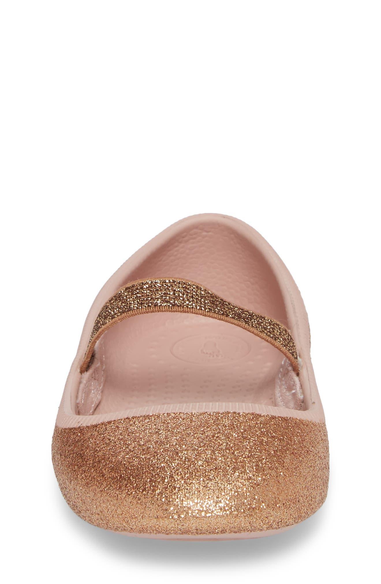Alternate Image 4  - Native Shoes Margot Bling Glitter Mary Jane (Baby, Walker, Toddler & Little Kid)