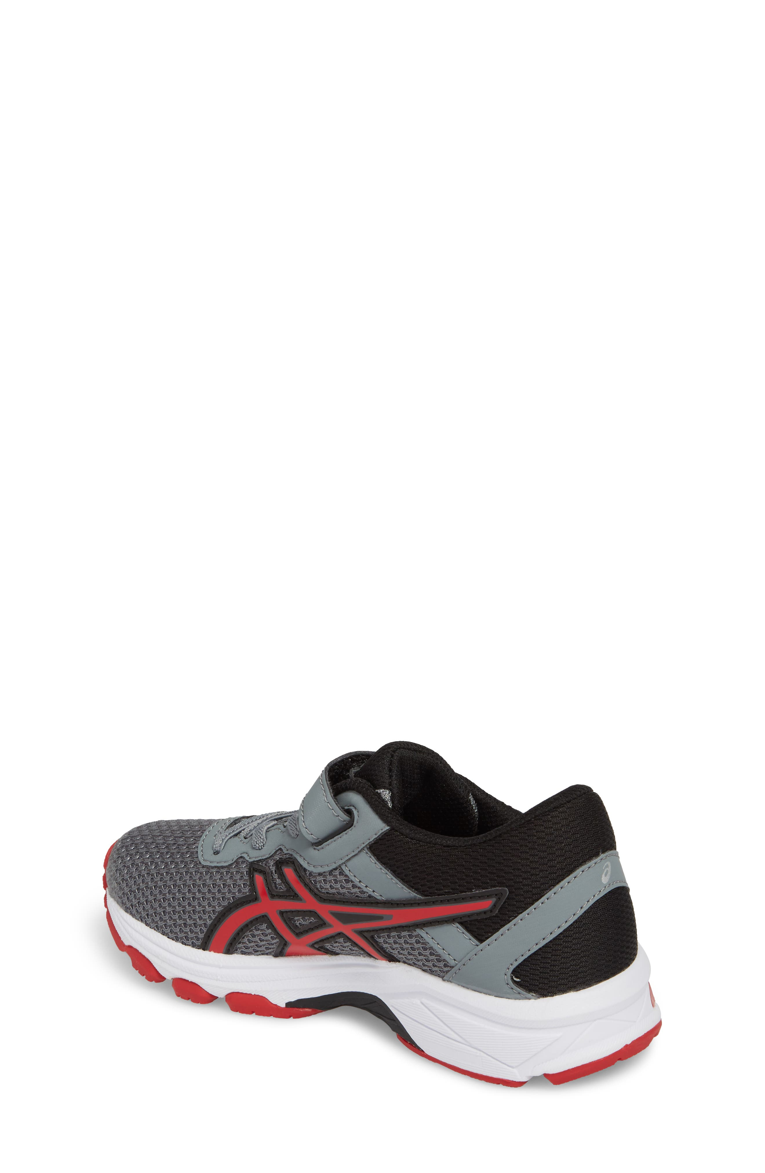 Asics GT-1000<sup>™</sup> 6 PS Sneaker,                             Alternate thumbnail 2, color,                             Stone Grey/ Classic Red/ Black