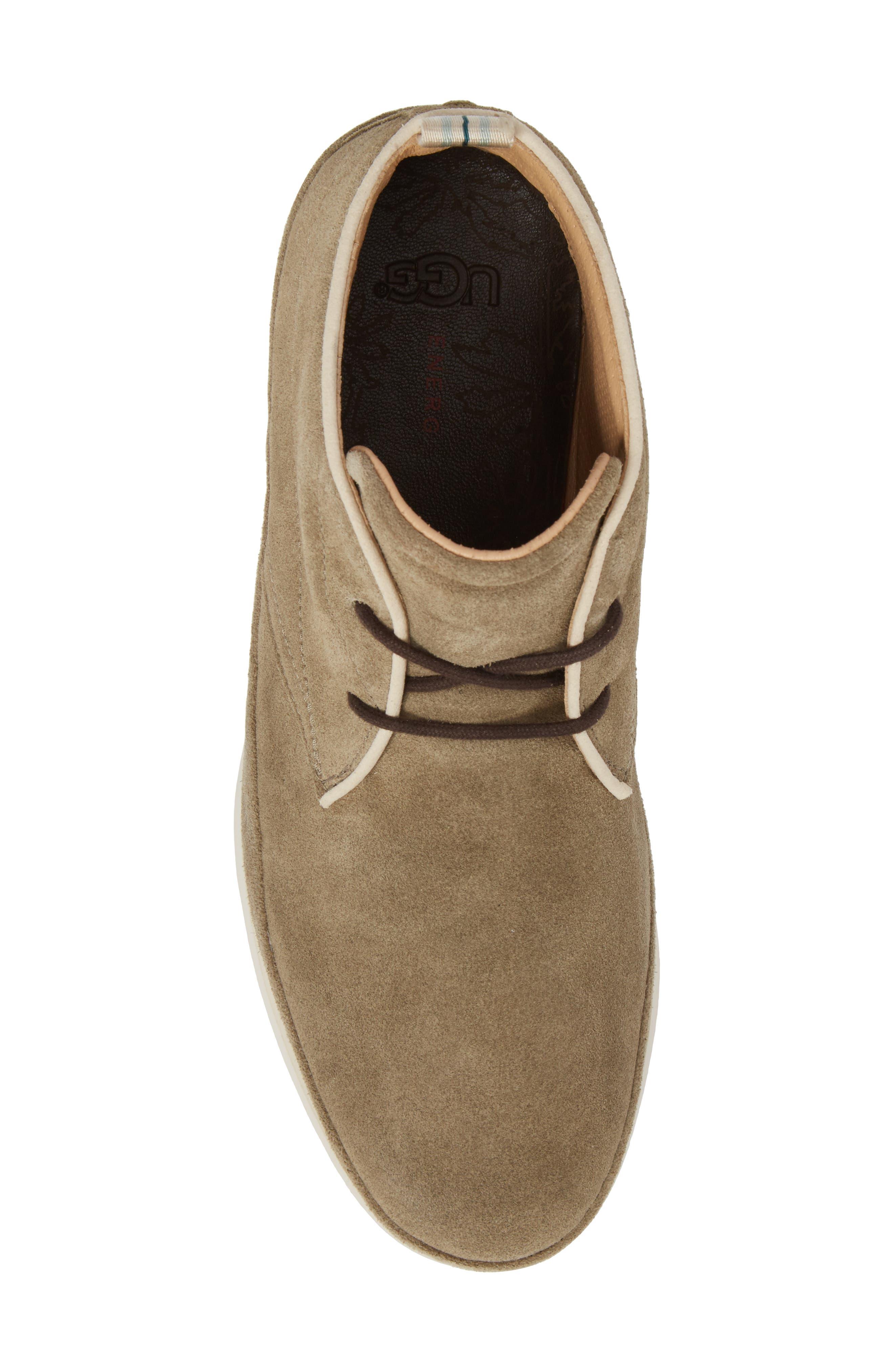 Cali Chukka Boot,                             Alternate thumbnail 5, color,                             Antilope Leather
