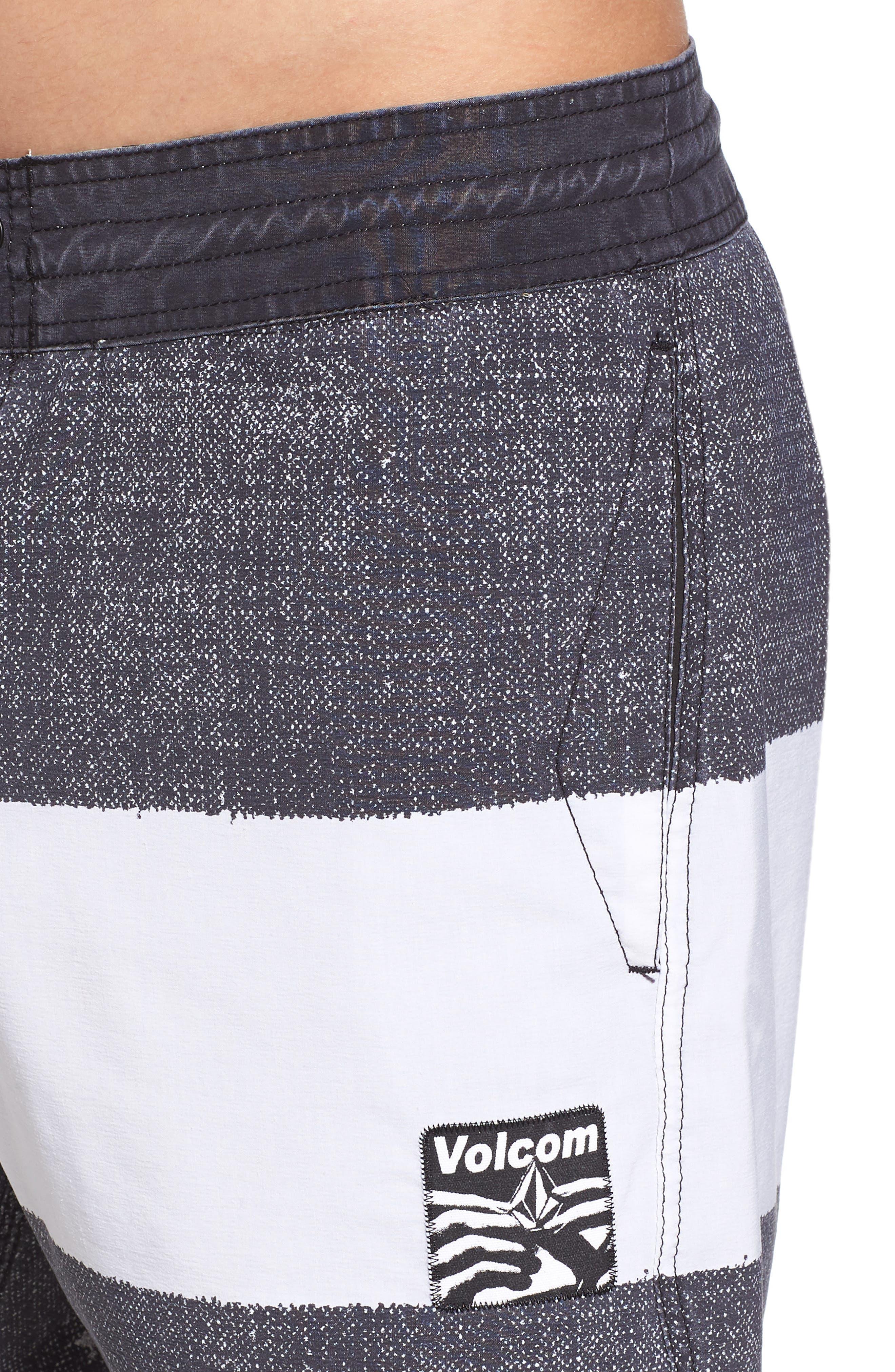 Balbroa Stoney Board Shorts,                             Alternate thumbnail 4, color,                             Stealth