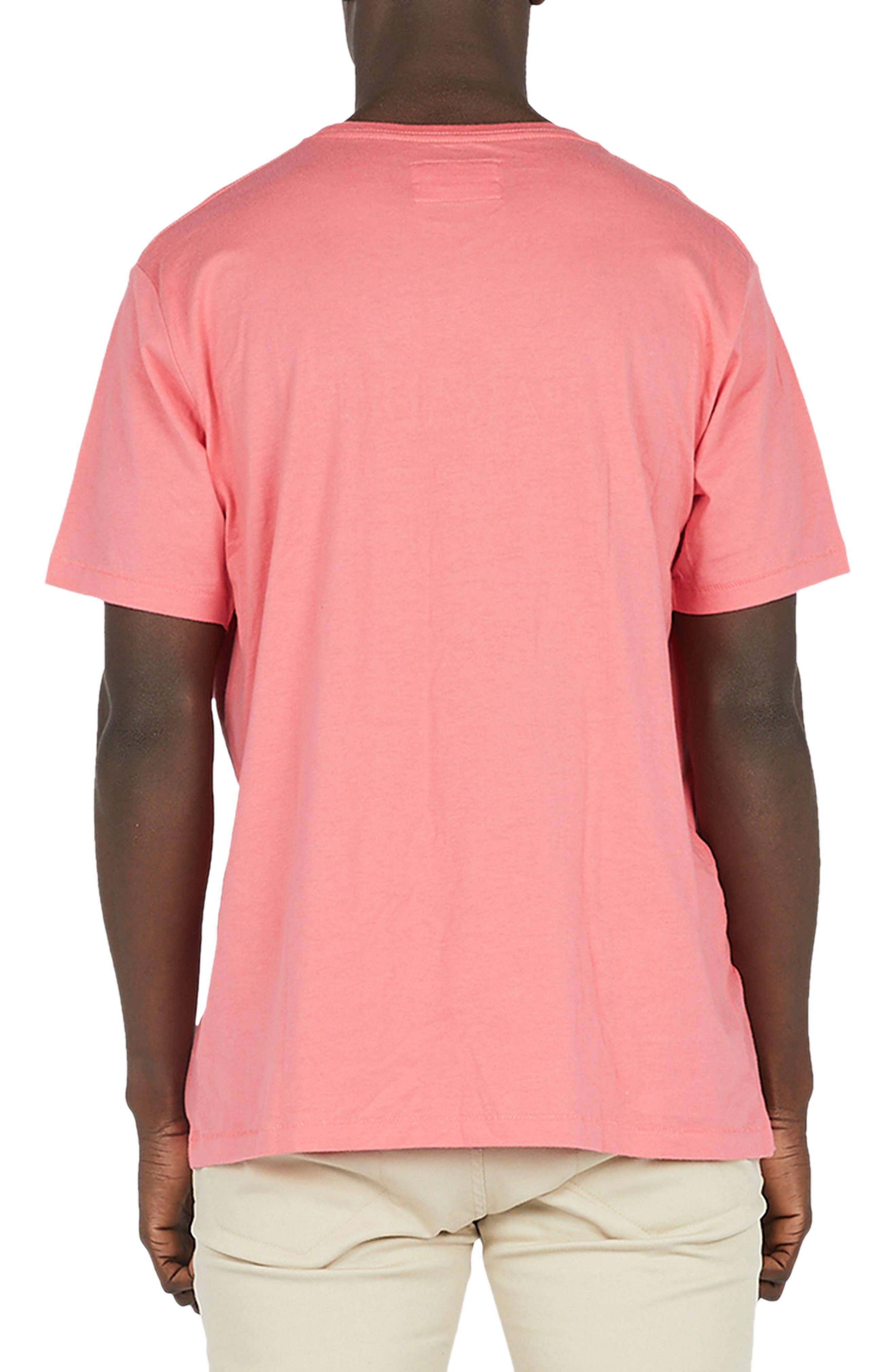 Paradise T-Shirt,                             Alternate thumbnail 2, color,                             Coral Pink