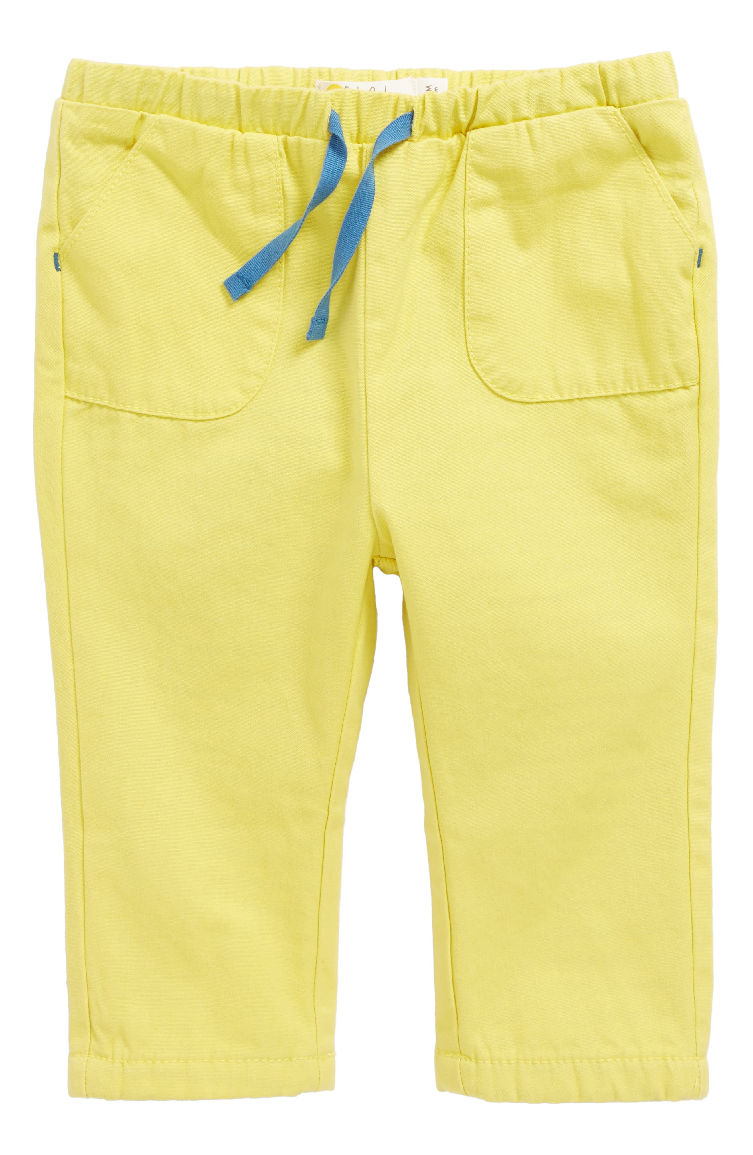 Mini Boden Pull On Pants (Baby Boy & Toddler Boy)