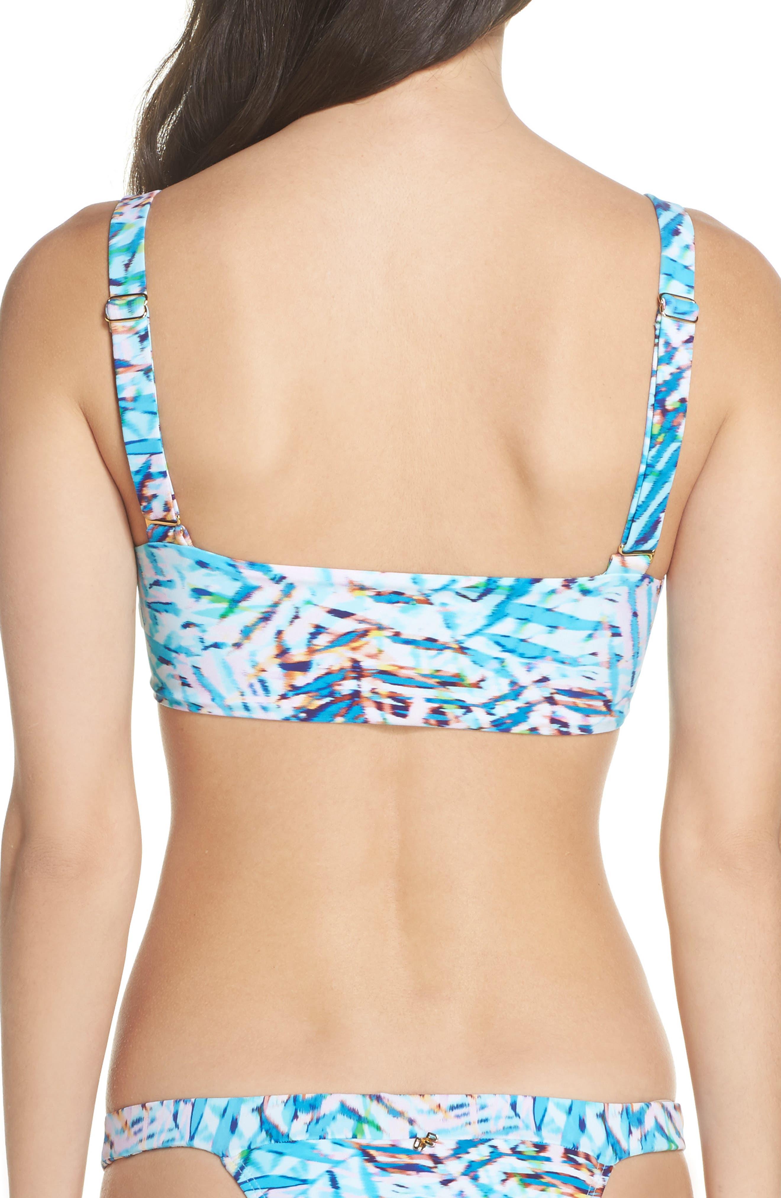 Knot Bikini Top,                             Alternate thumbnail 2, color,                             Palma